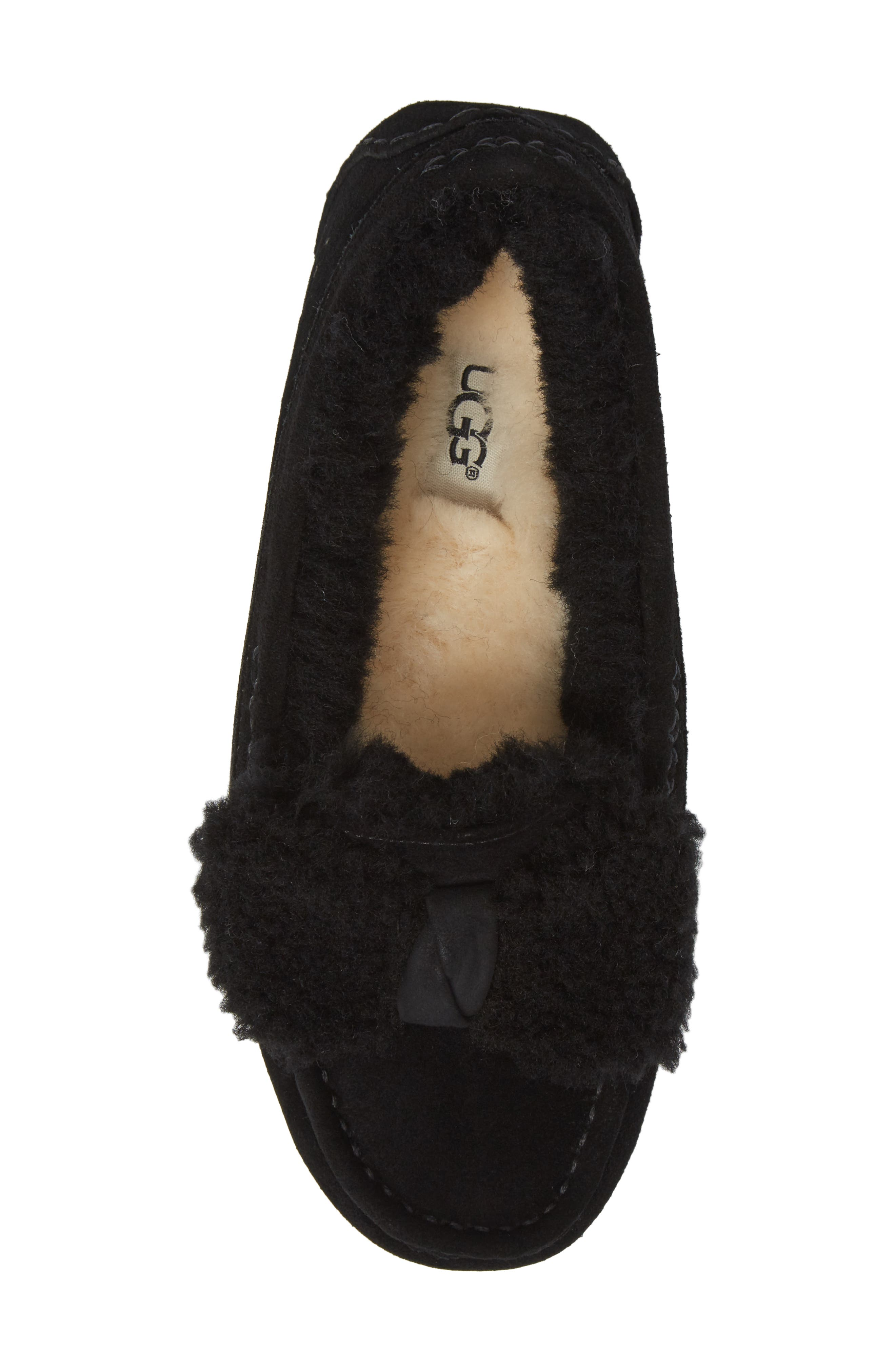 Alternate Image 5  - UGG® Ansley Bow Slipper