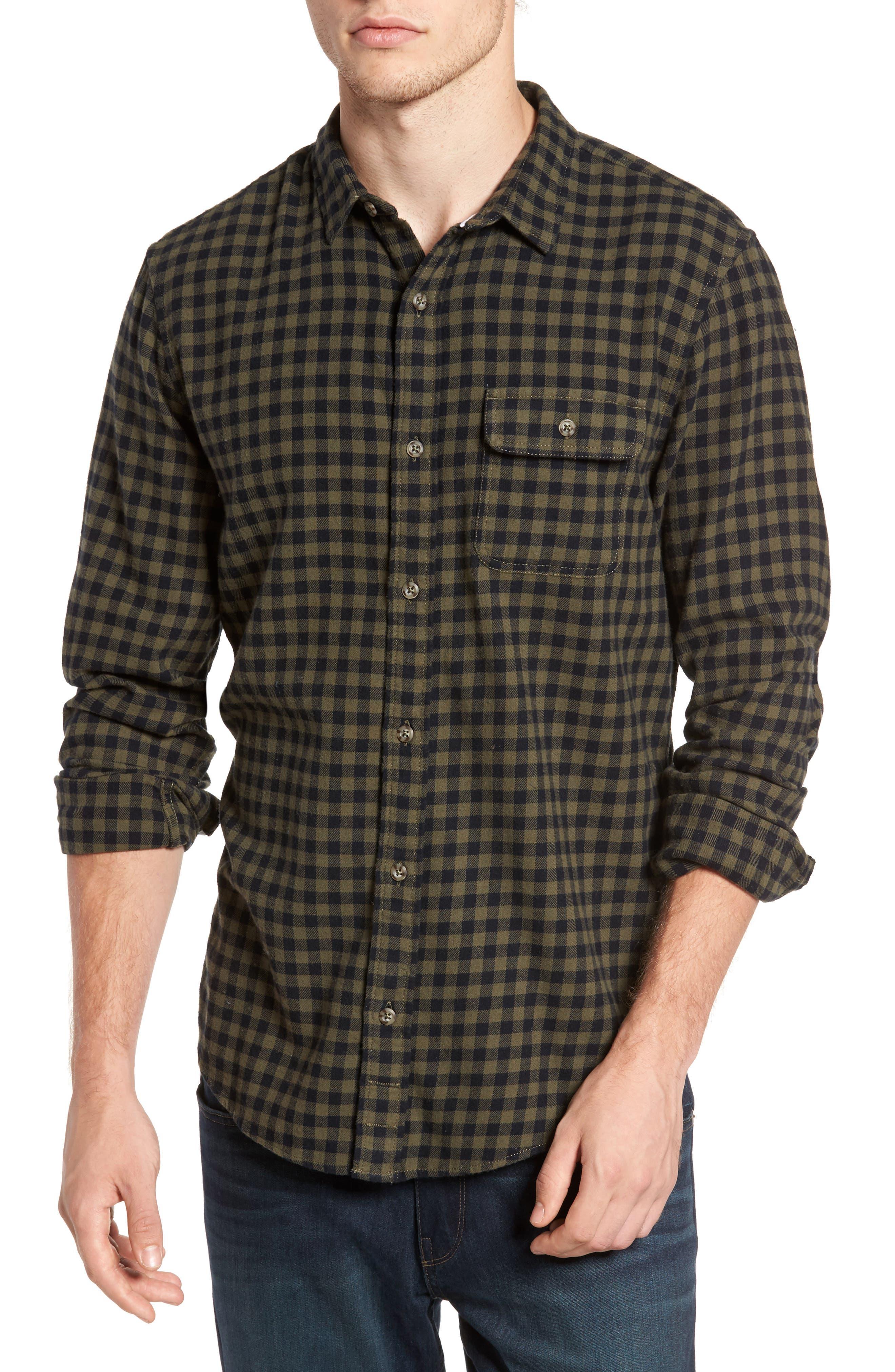 1901 Brushed Flannel Sport Shirt
