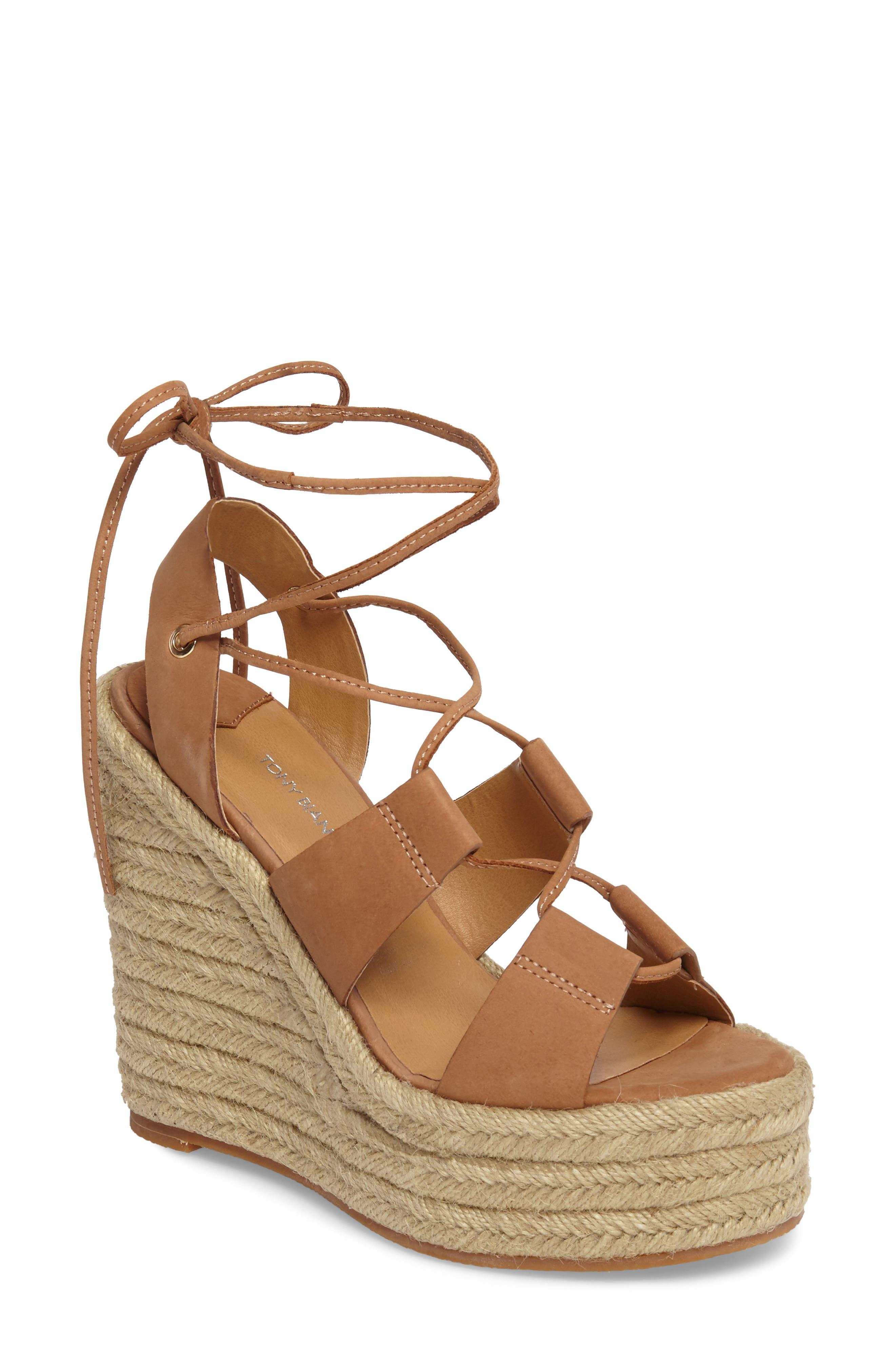 Tony Bianco Biba Platform Espadrille Sandal (Women)