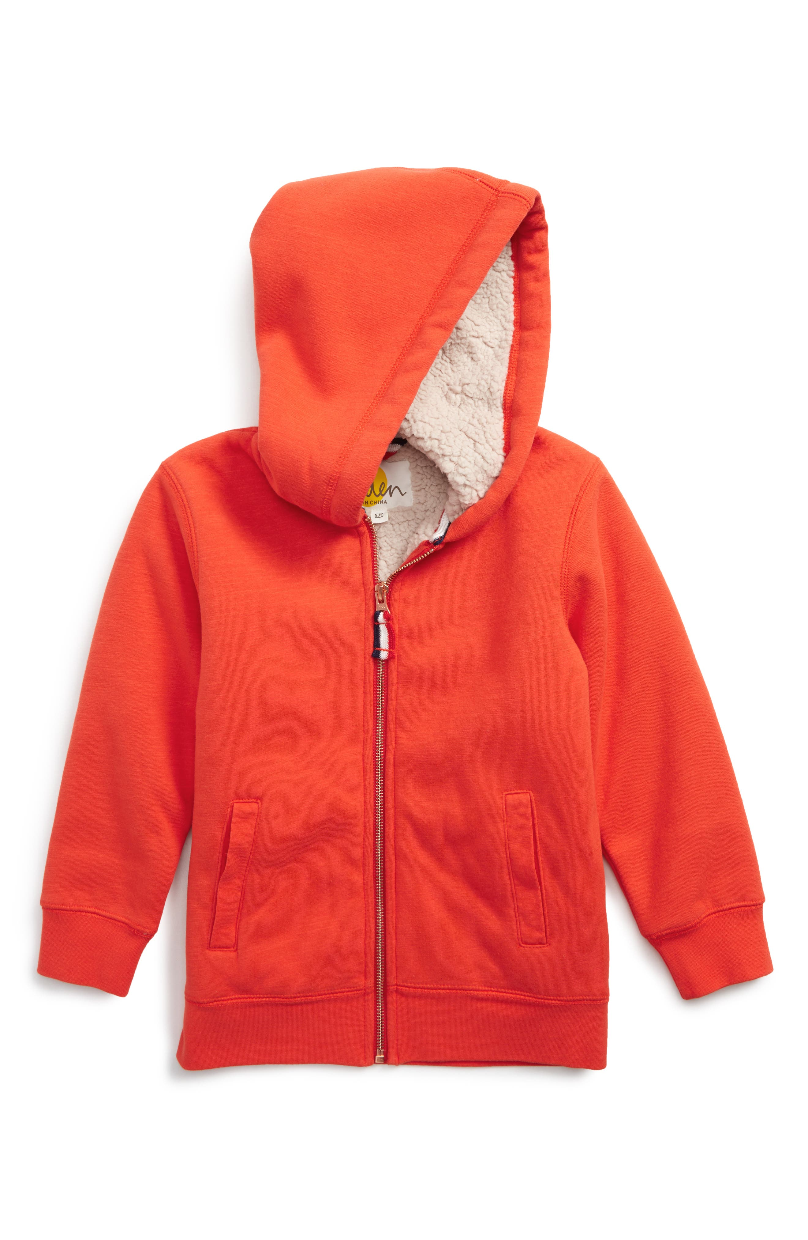 Mini Boden Zip-Up Hoodie (Toddler Boys, Little Boys & Big Boys)