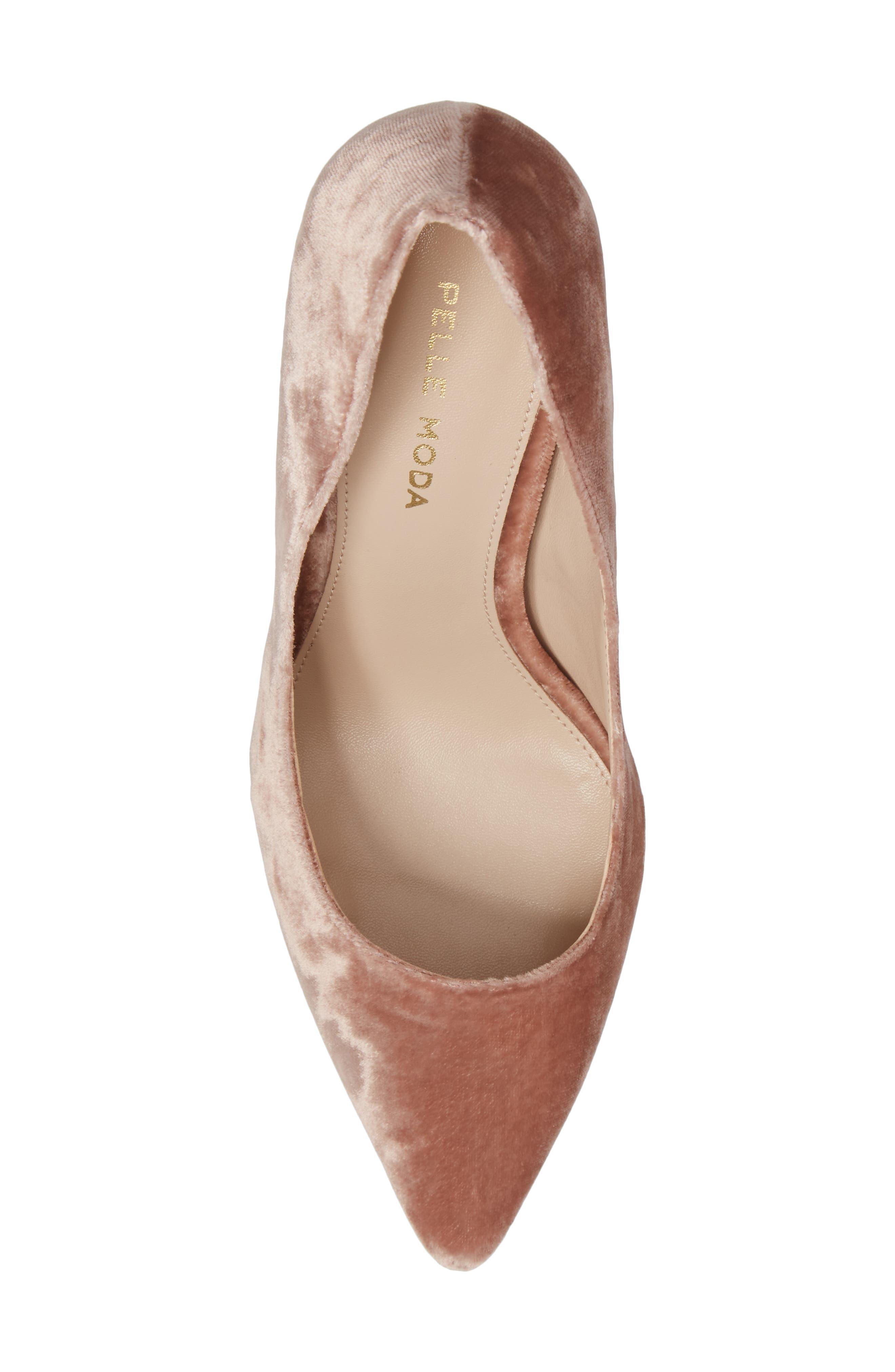 Alternate Image 5  - Pelle Moda Vally2 Pointy Toe Pump (Women)