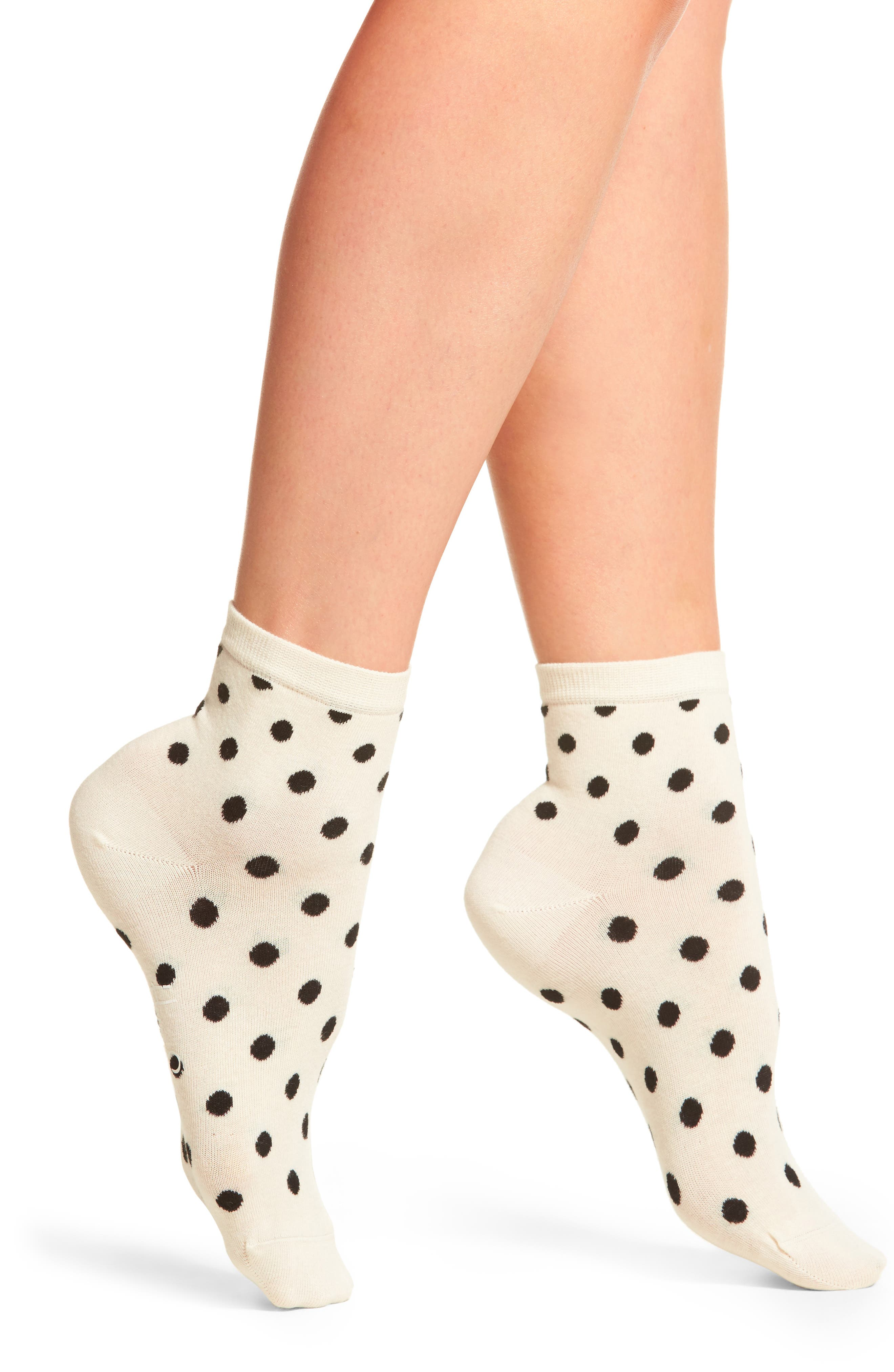 Happy Socks Dot Anklet Socks (3 for $24)