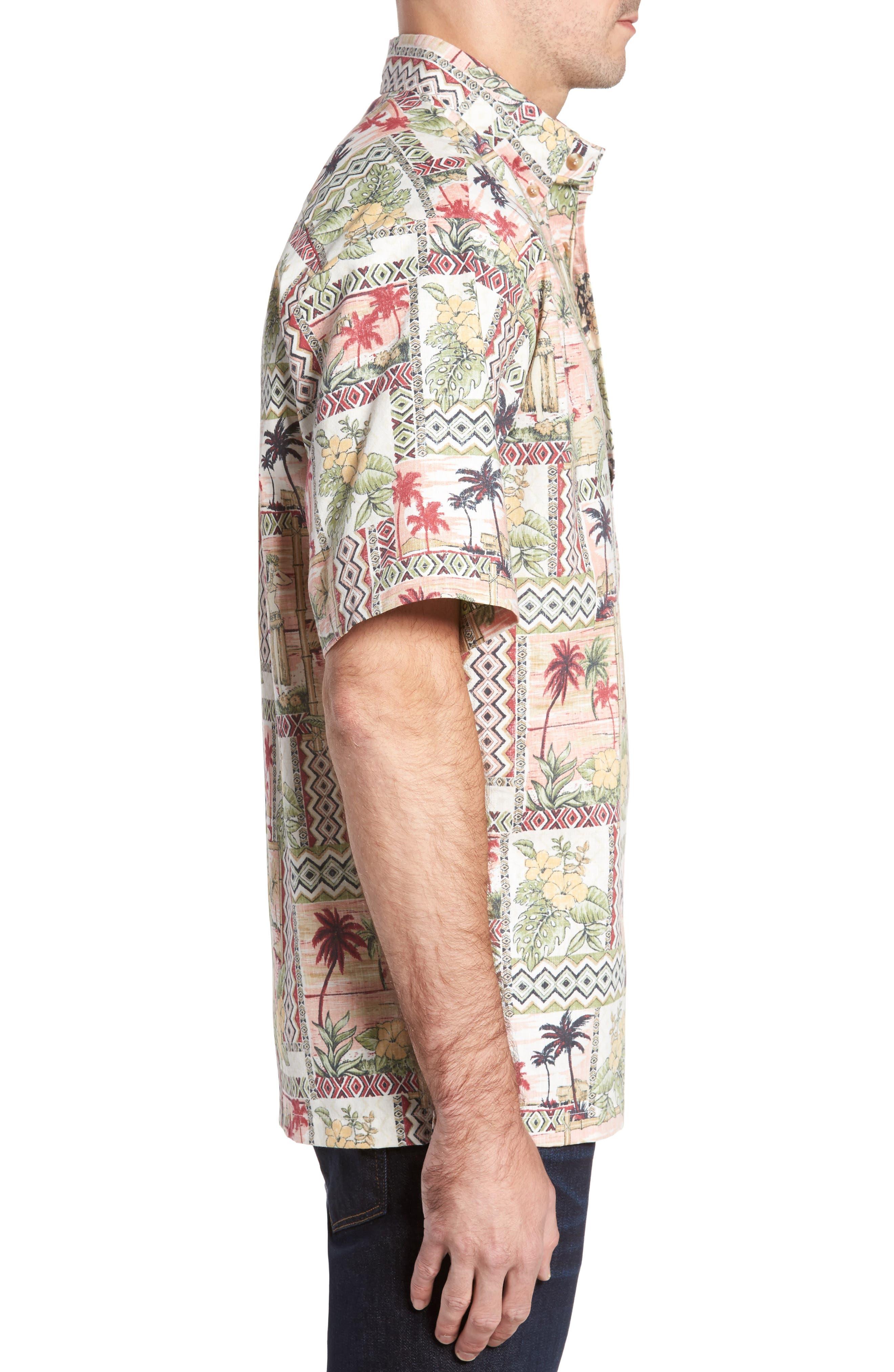 Alternate Image 3  - Kahala Aloha Classic Fit Pullover Camp Shirt