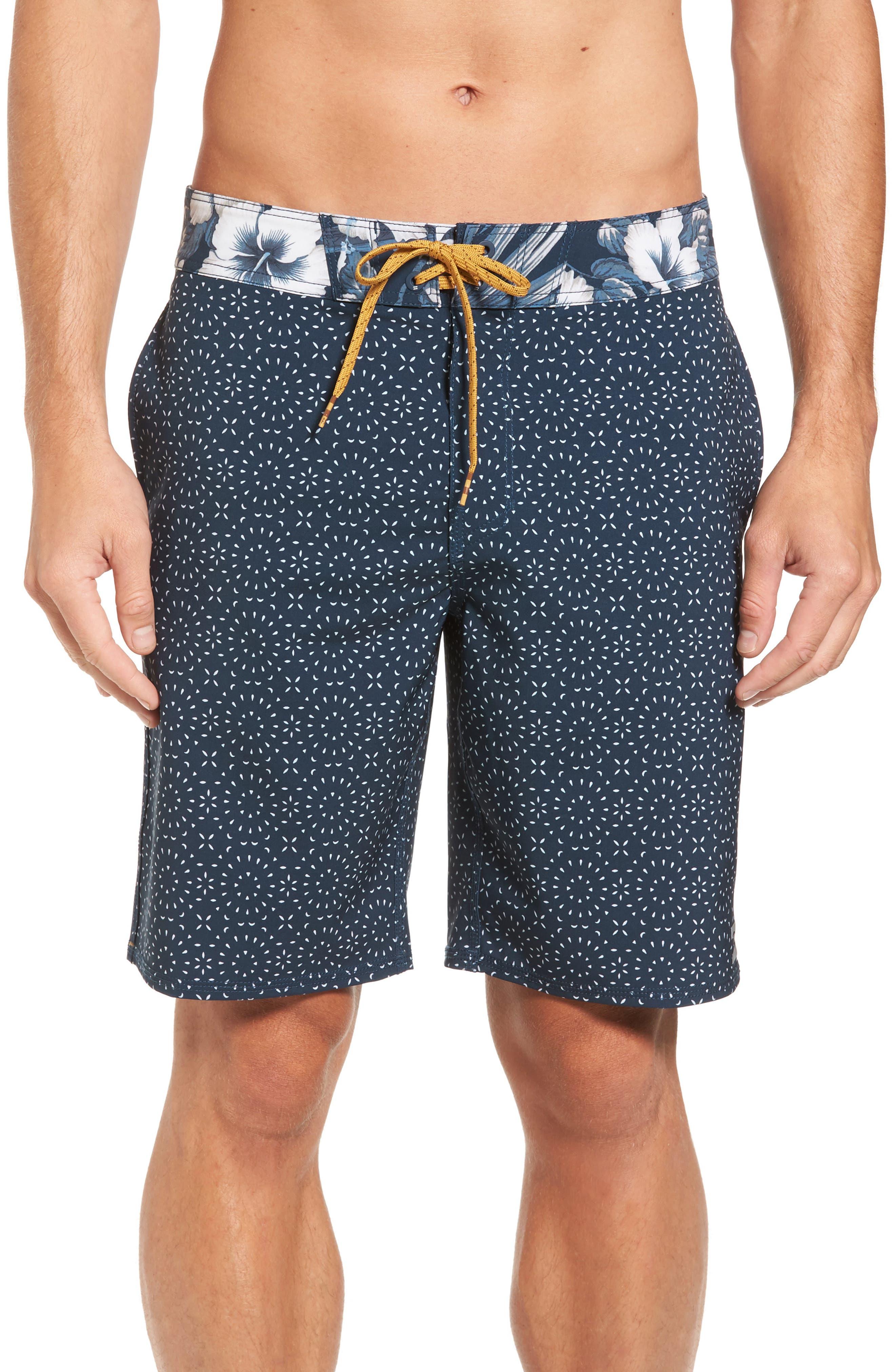 Sundays X Board Shorts,                         Main,                         color, Blue