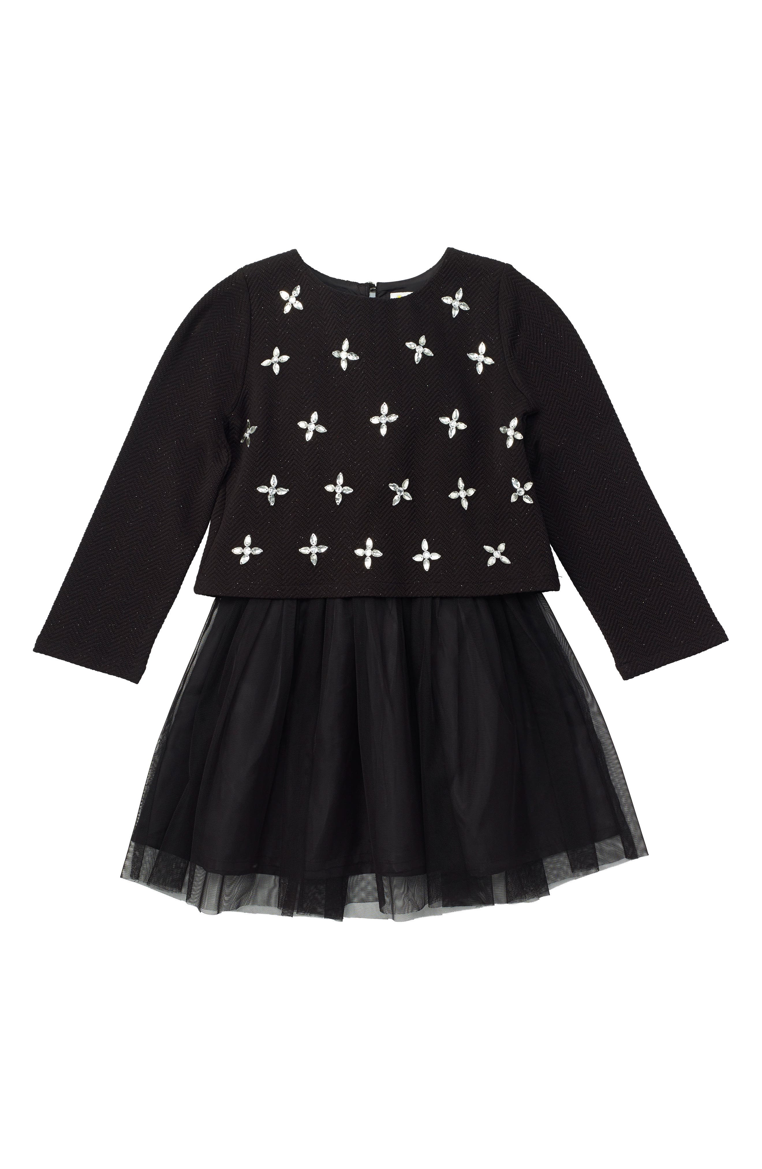 Alternate Image 1 Selected - Masalababy Faye Dress (Toddler Girls, Little Girls & Big Girls)