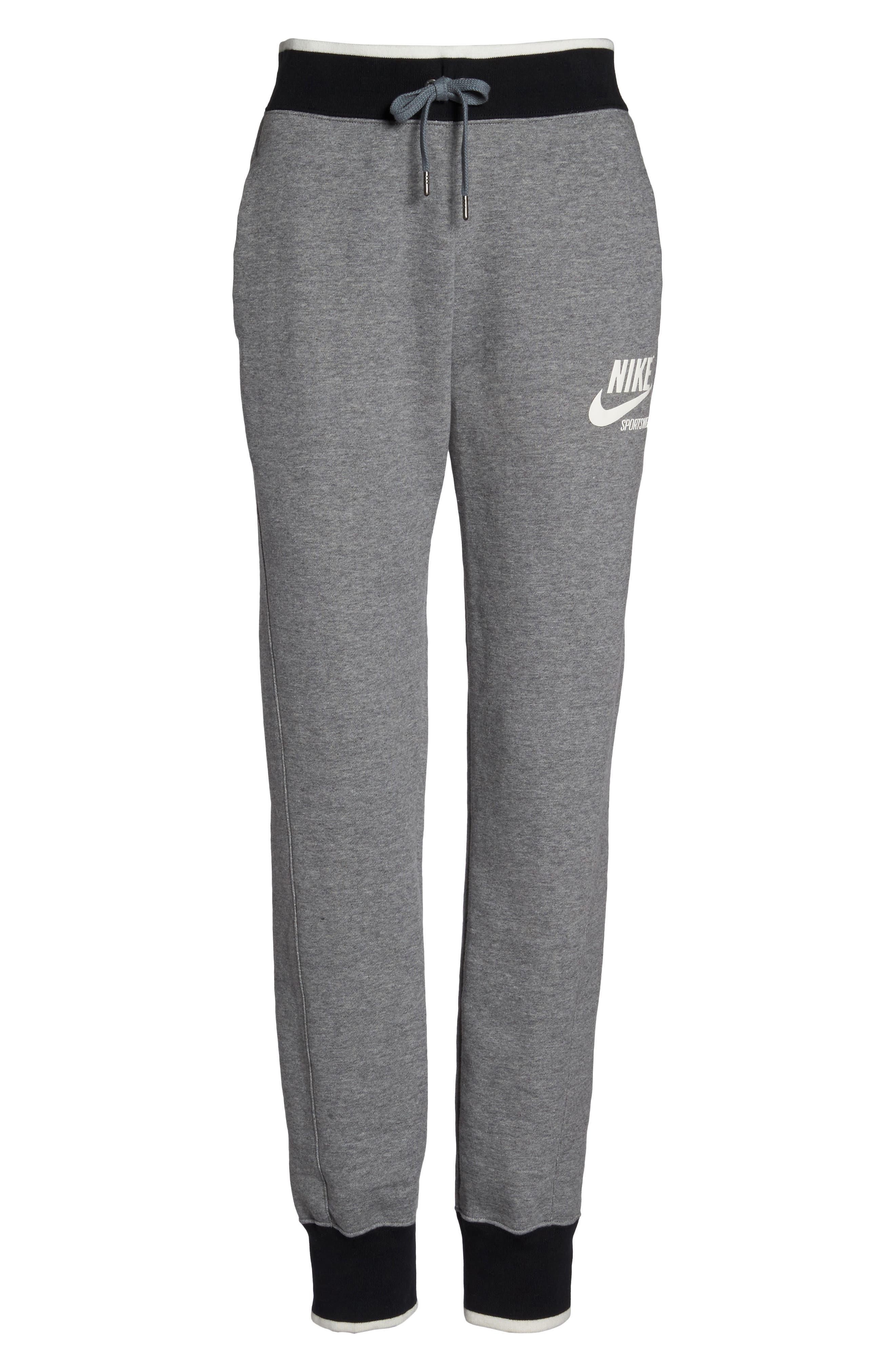 Alternate Image 6  - Nike Fleece Knit Pants