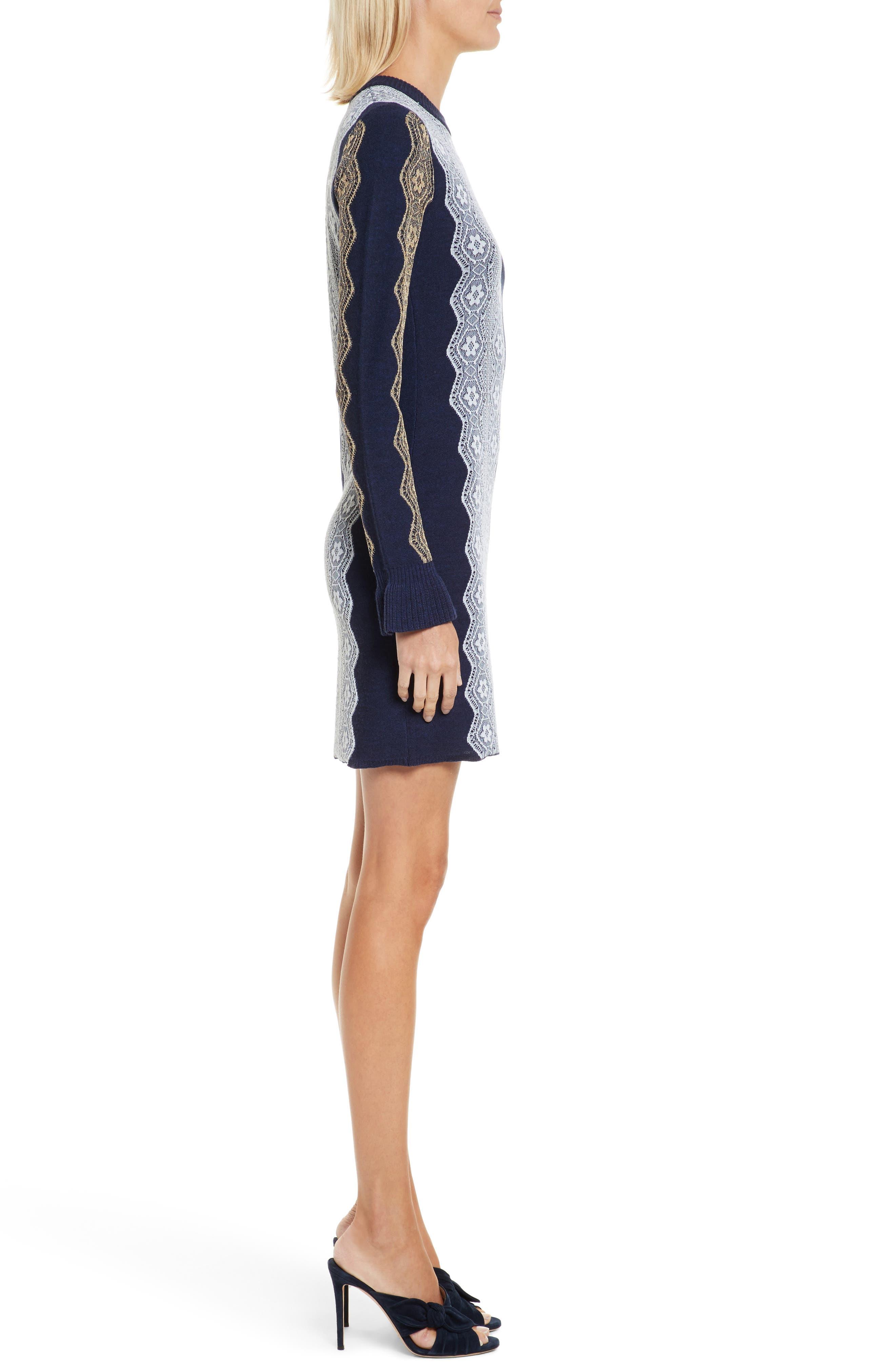 Alternate Image 3  - 3.1 Phillip Lim Intarsia Lace Wool Blend Dress