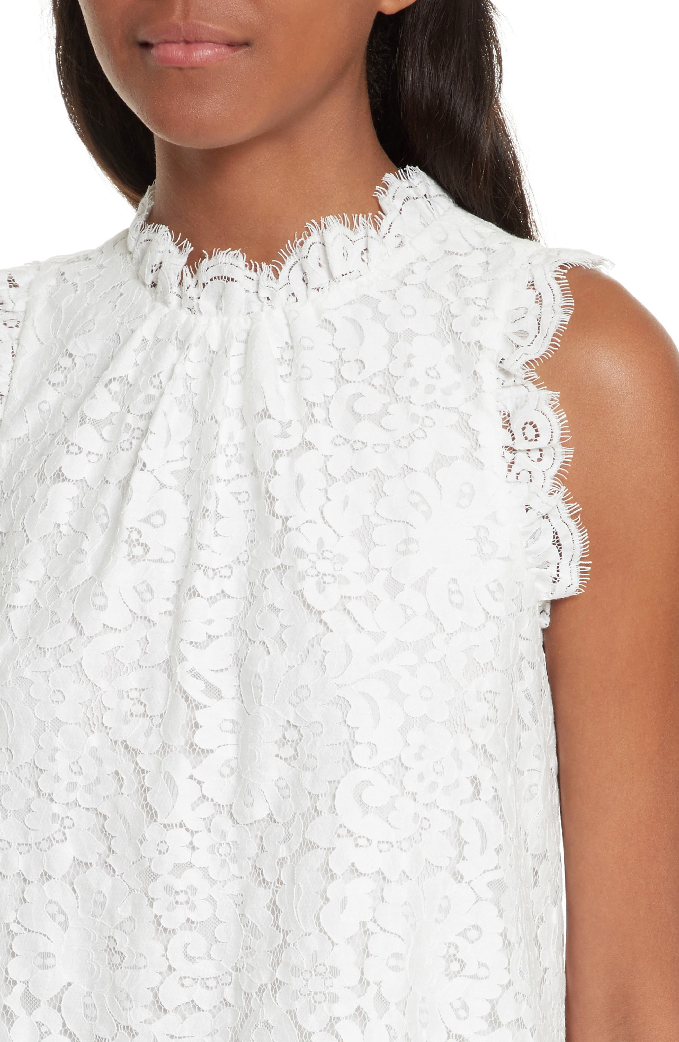 Alternate Image 4  - Joie Marineth Lace Top