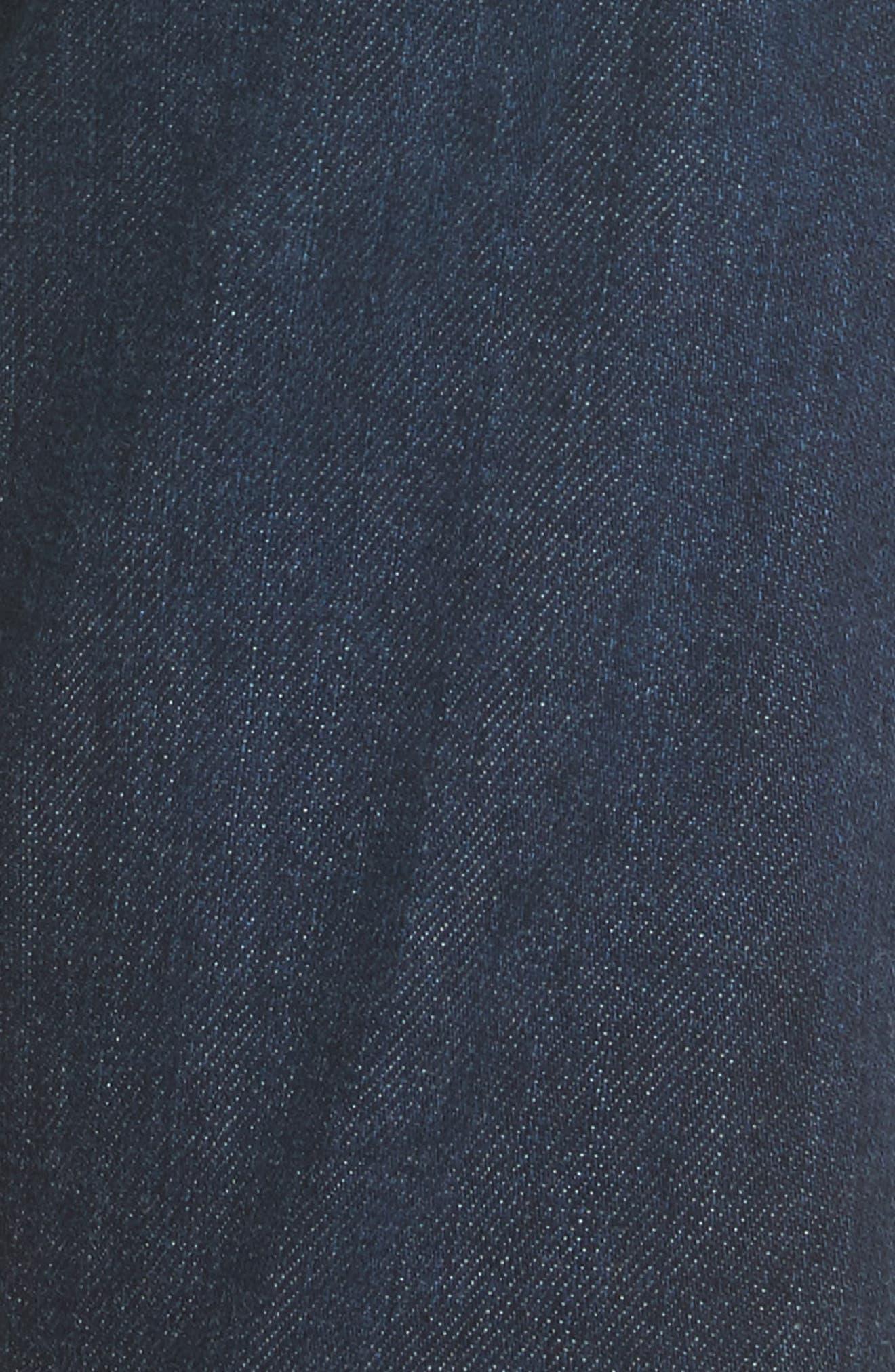 The Ex Boyfriend Crop Jeans,                             Alternate thumbnail 5, color,                             7 Years Dark Tide