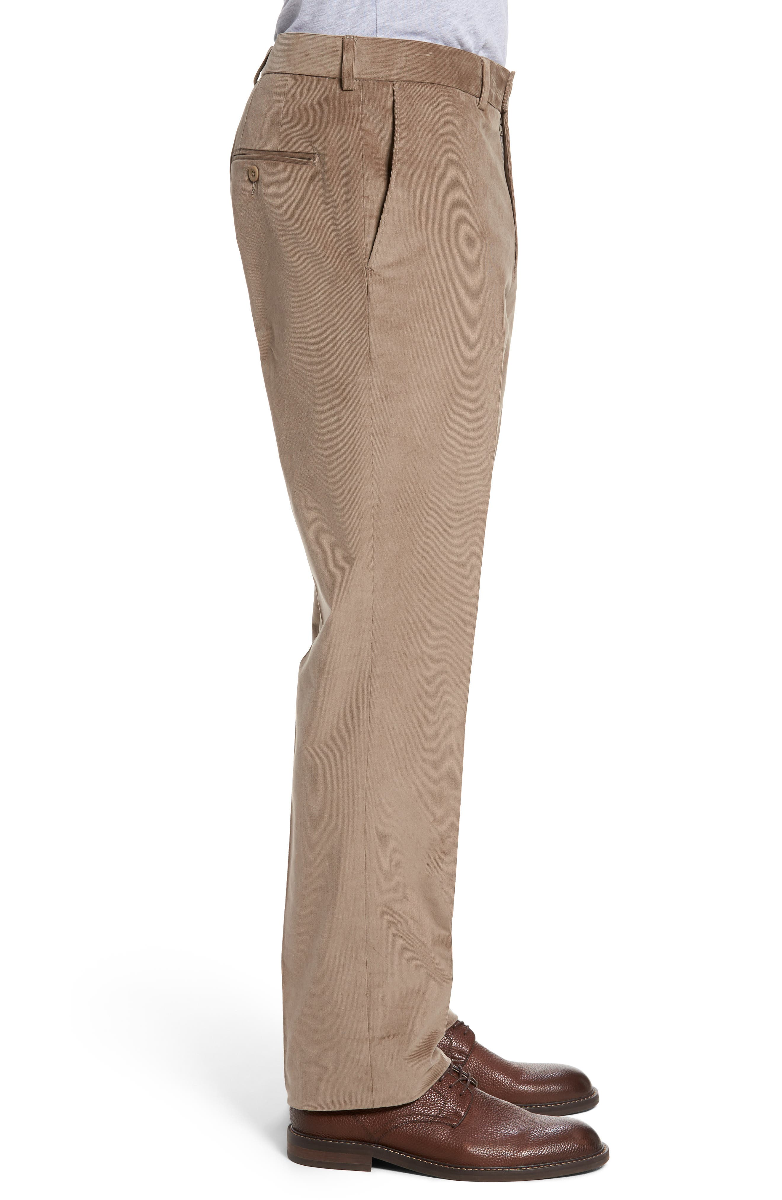 Corduroy Pants,                             Alternate thumbnail 3, color,                             Tan