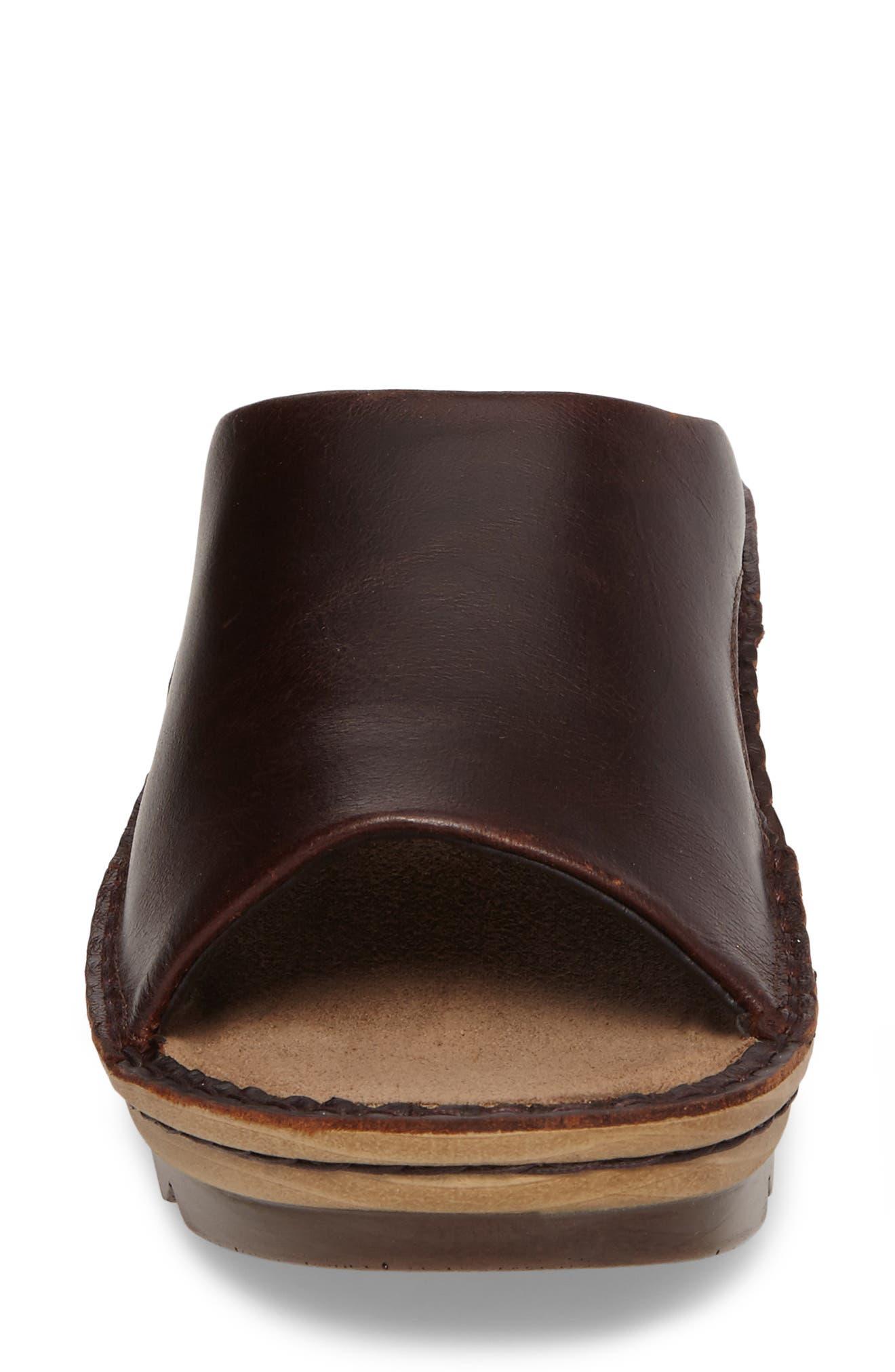 'Ardisia' Slide Sandal,                             Alternate thumbnail 4, color,                             Buffalo Leather