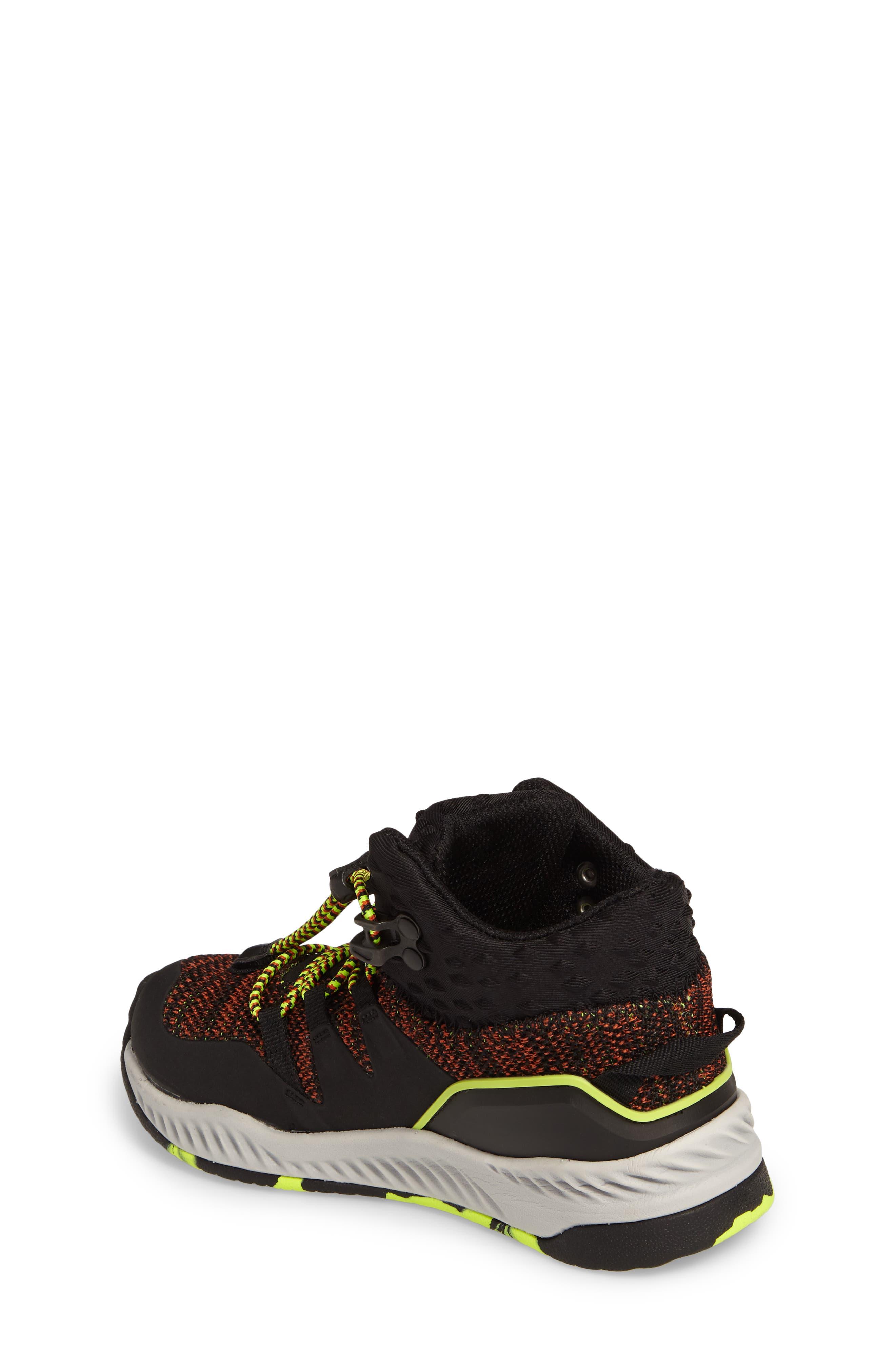 Armadillo Sneaker Boot,                             Alternate thumbnail 2, color,                             Black