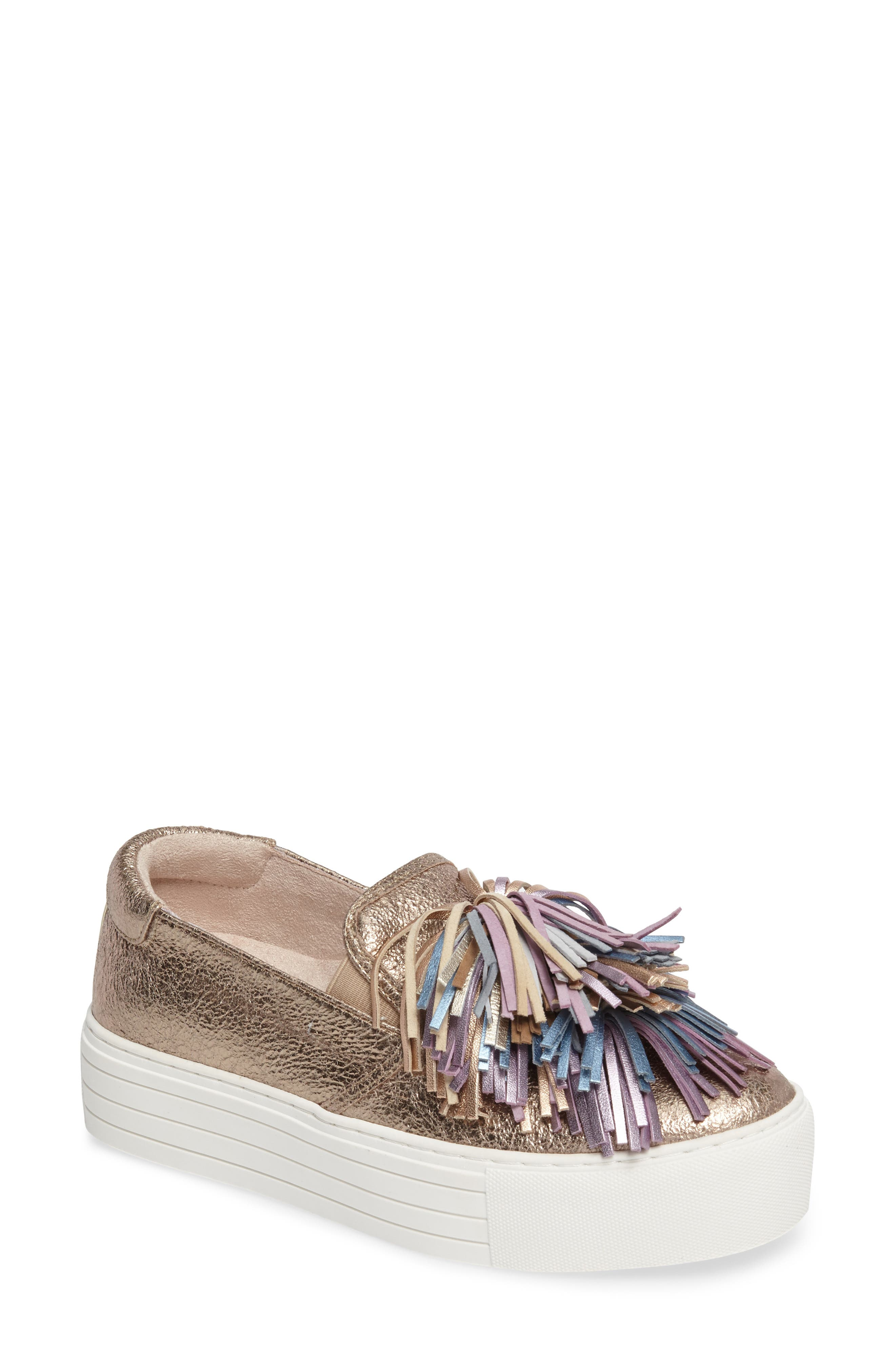 Alternate Image 1 Selected - Kenneth Cole New York Jayson Pom Platform Sneaker (Women)