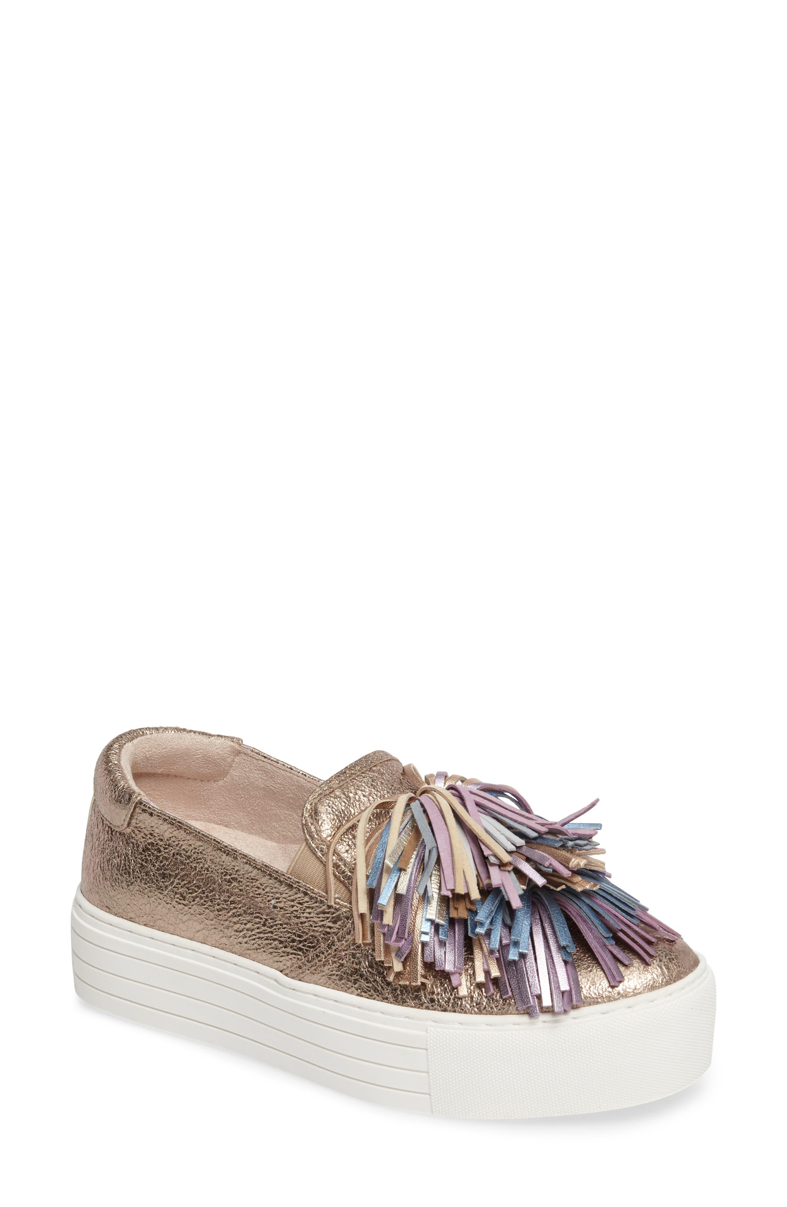 Main Image - Kenneth Cole New York Jayson Pom Platform Sneaker (Women)