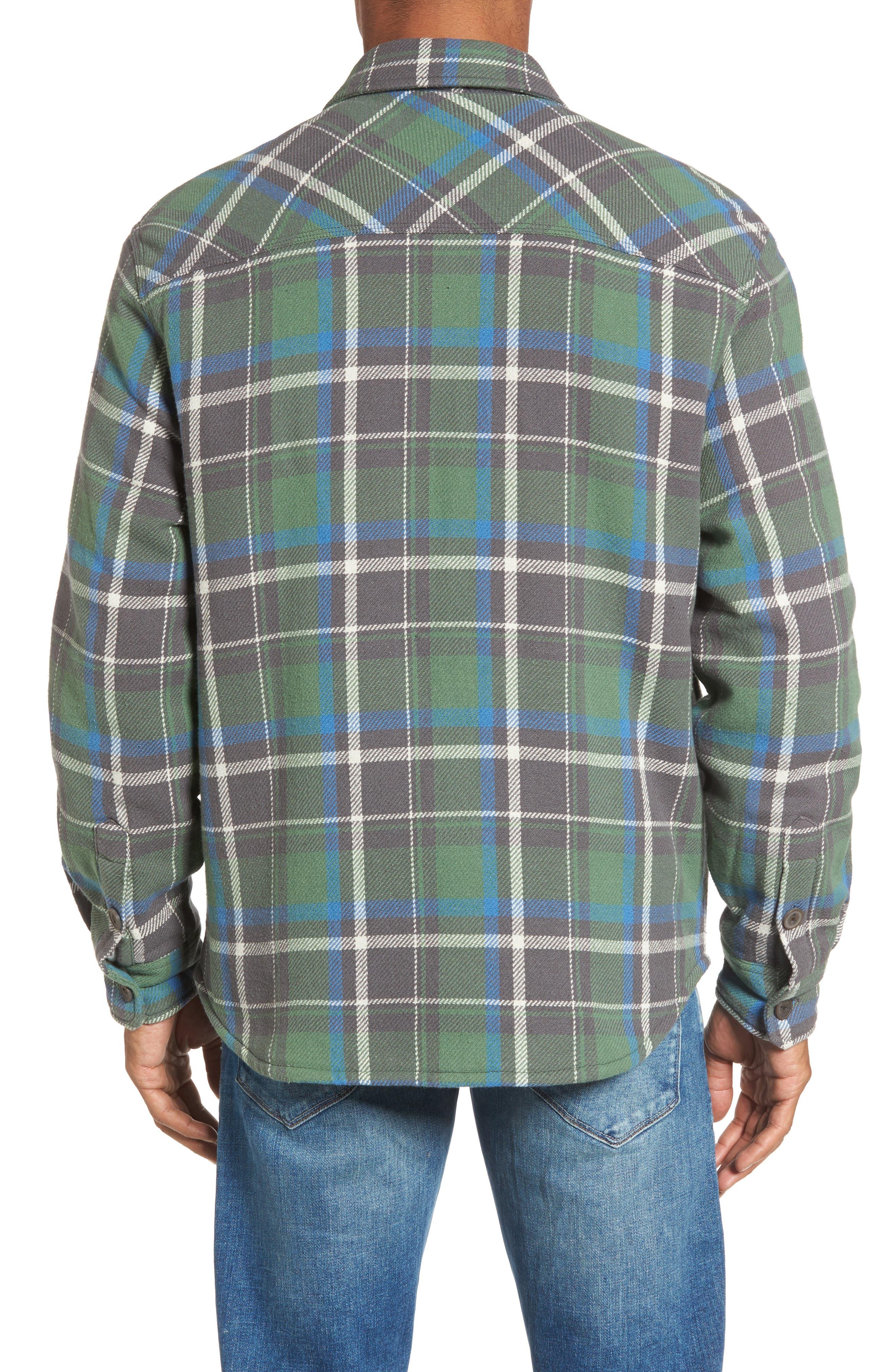 Alternate Image 2  - True Grit Summit Hunter Plaid Faux Shearling Lined Shirt Jacket