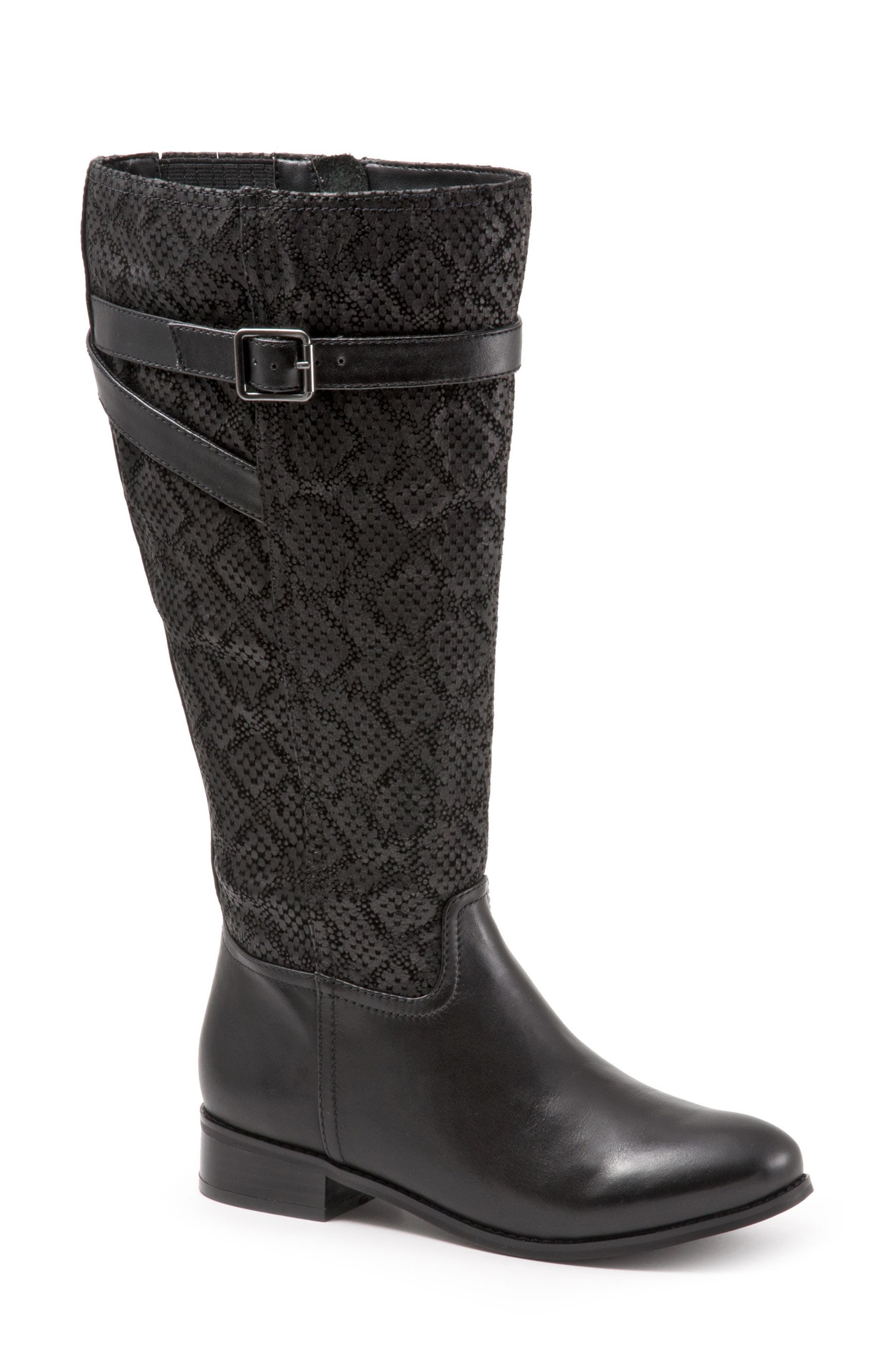 Lyra Tall Boot,                         Main,                         color, Black
