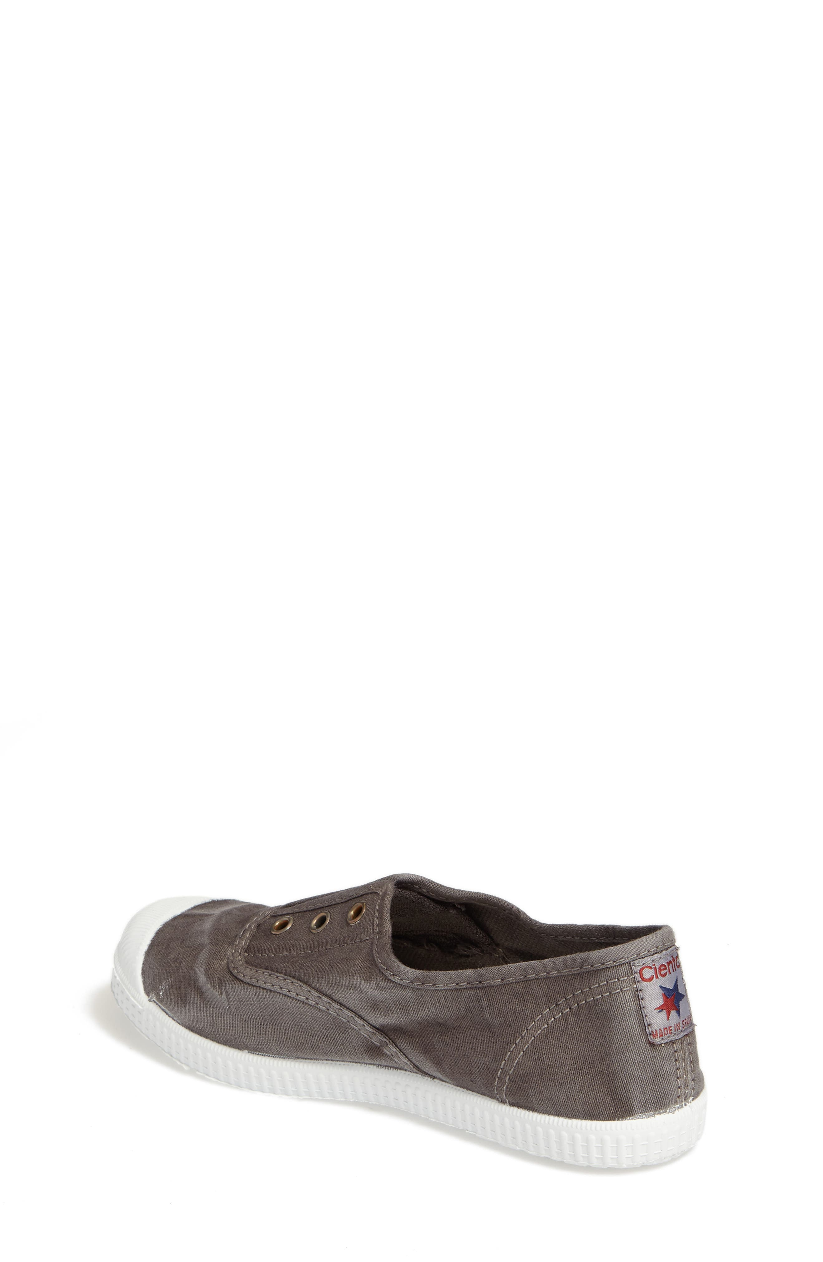 Alternate Image 2  - Cienta Laceless Slip-On Sneaker (Walker, Toddler, Little Kid & Big Kid)