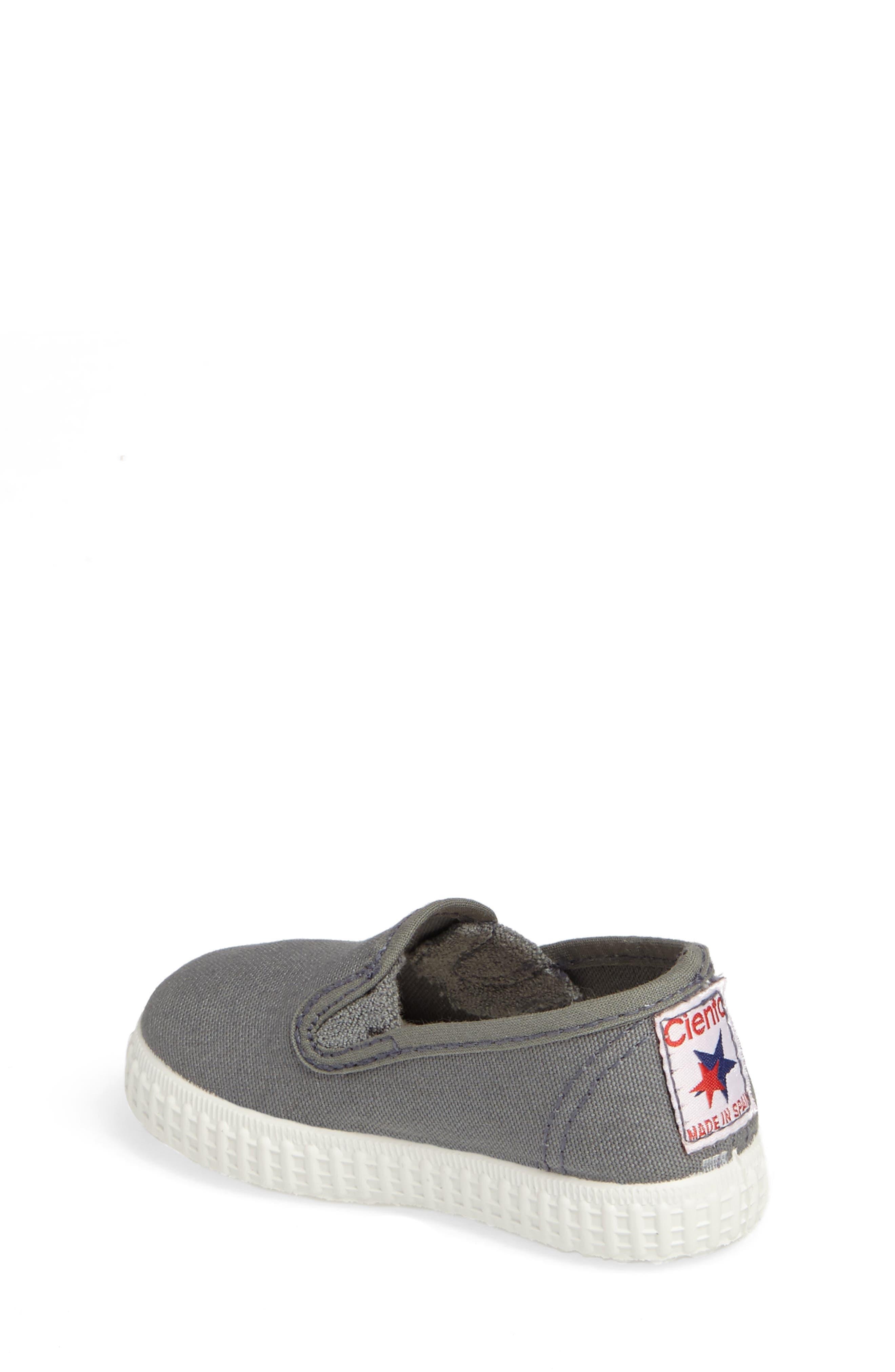 Slip-On Sneaker,                             Alternate thumbnail 2, color,                             Light Grey