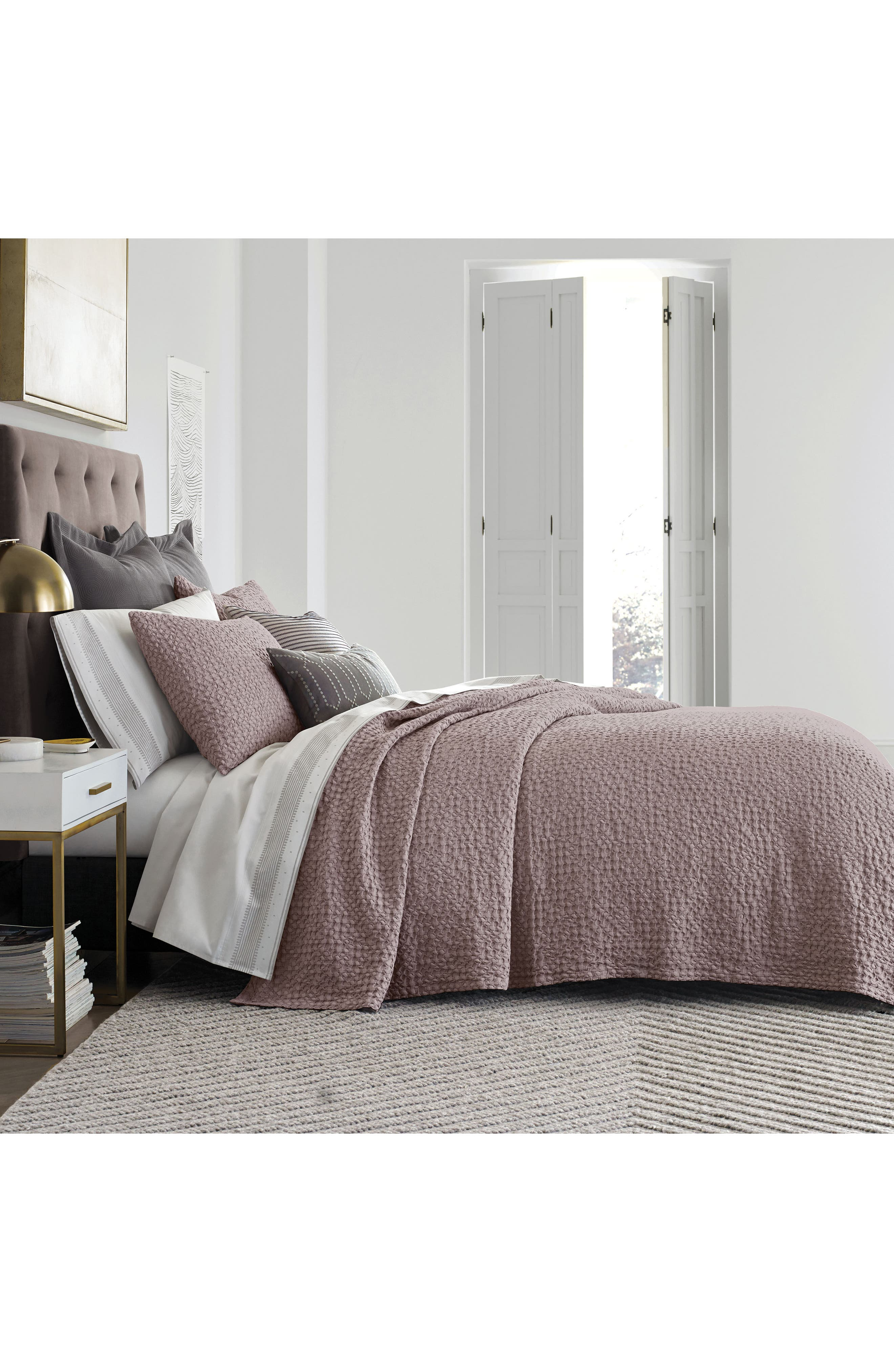 Thayer Coverlet,                         Main,                         color, Quartz