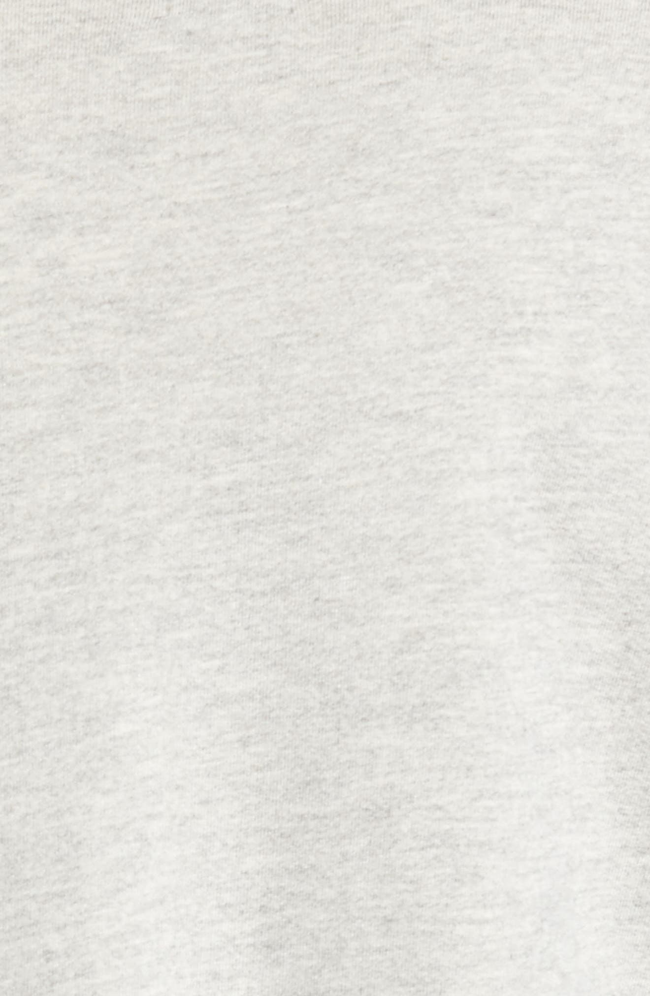 Love Sweatshirt,                             Alternate thumbnail 5, color,                             Heather Grey