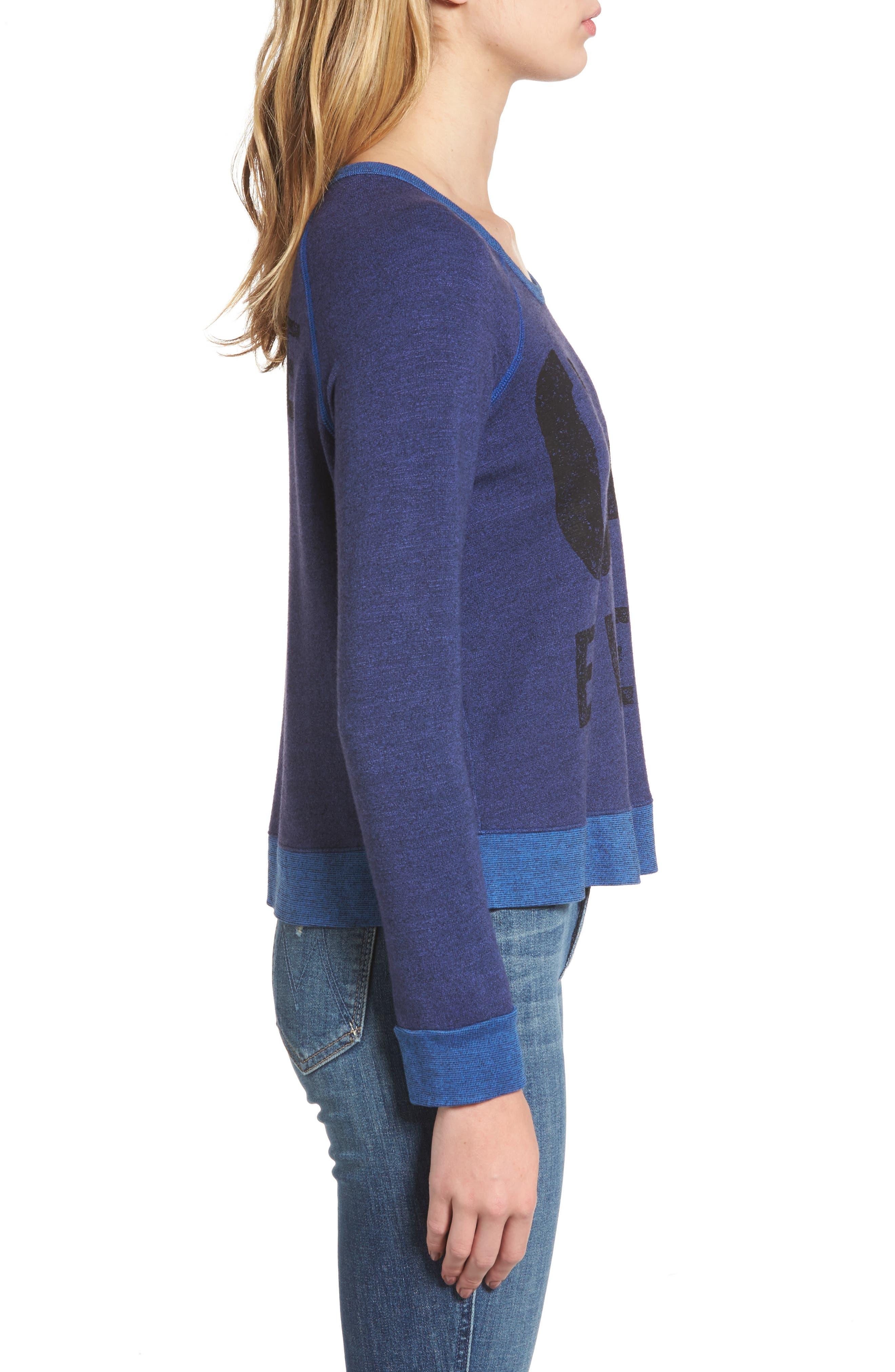 Alternate Image 3  - Sundry Love Forever Sweatshirt