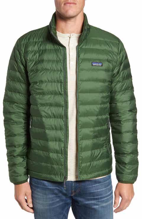 Men's Patagonia Green Coats & Men's Patagonia Green Jackets ... : patagonia long quilted down coat - Adamdwight.com