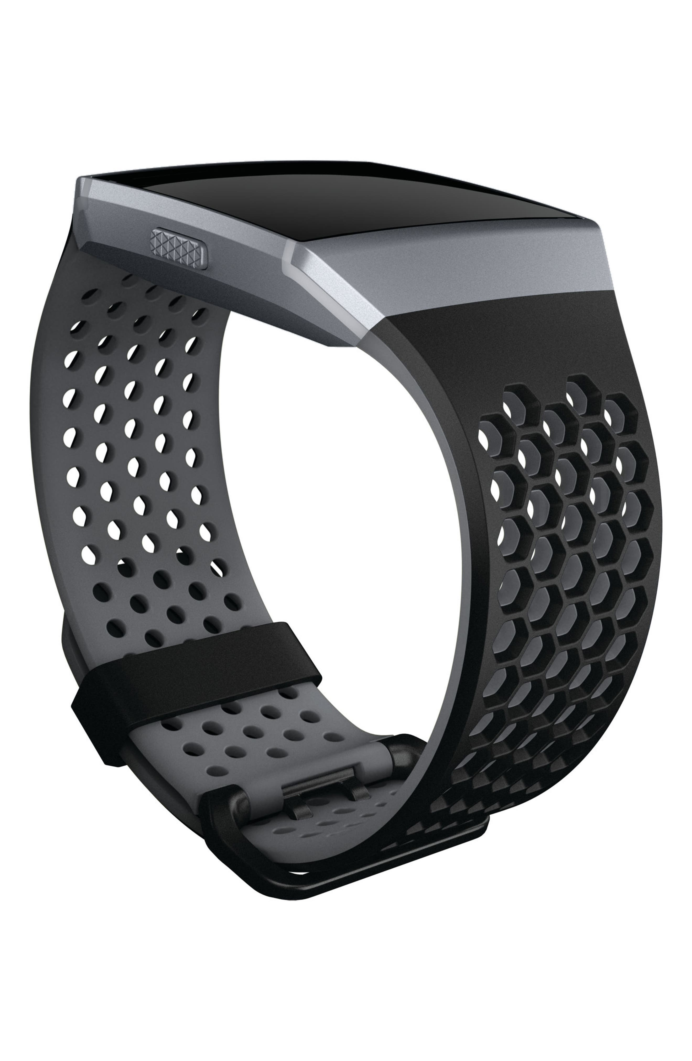Ionic Accessory Band,                             Alternate thumbnail 2, color,                             Black Grey