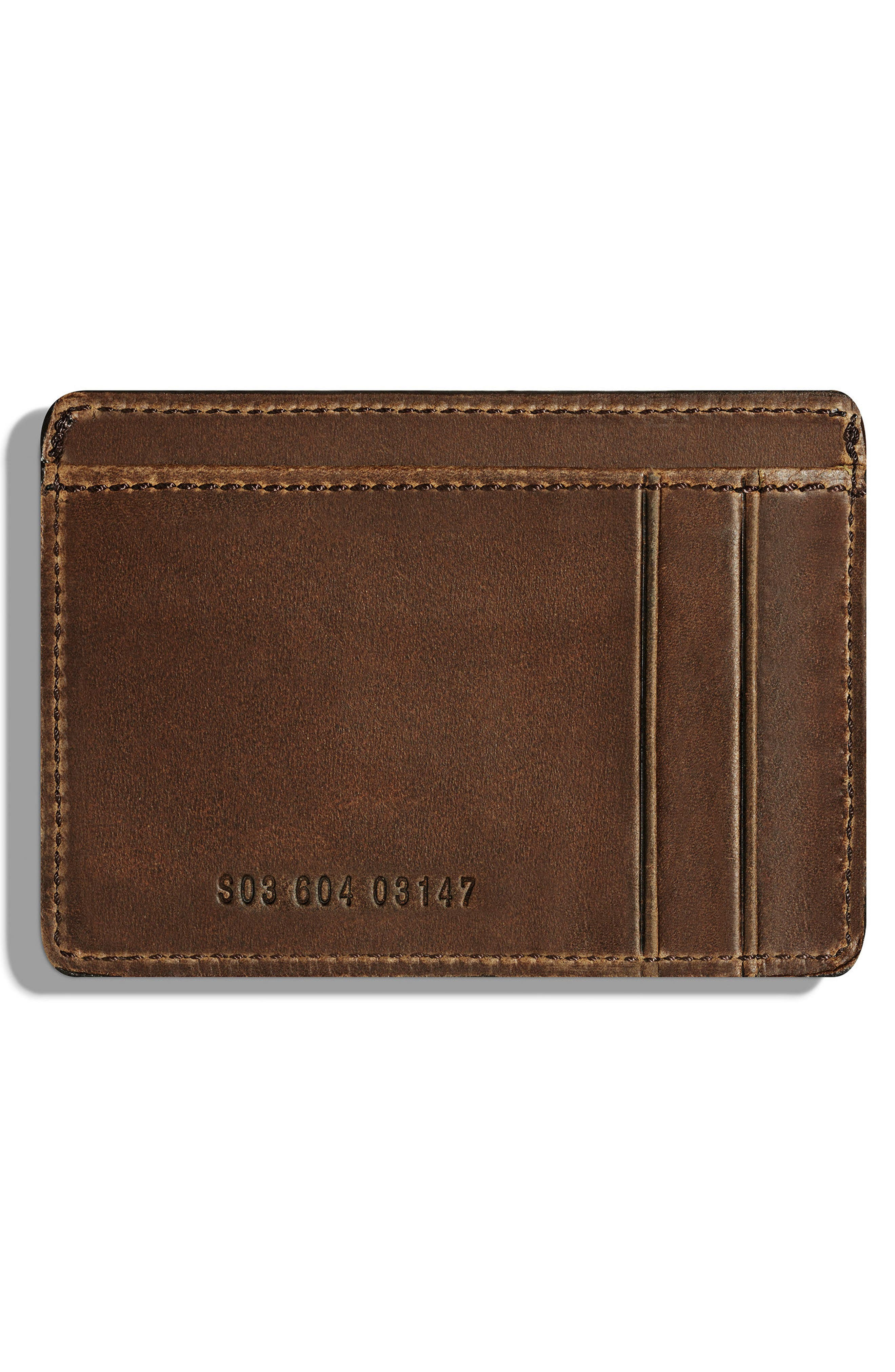 Alternate Image 2  - Shinola Leather Card Case