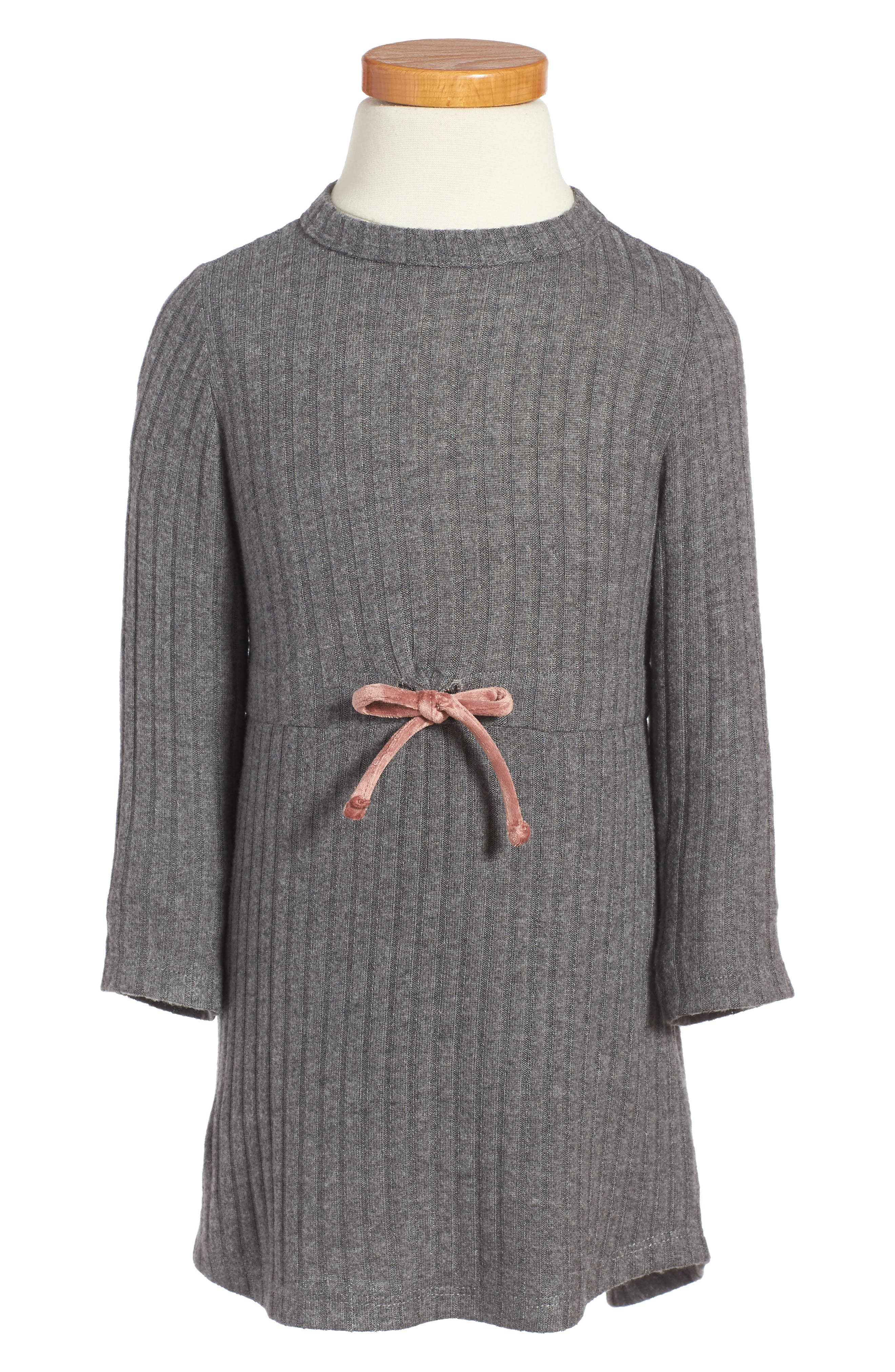 BERU Ellana Ribbed Sweater Dress (Toddler Girls & Little Girls)