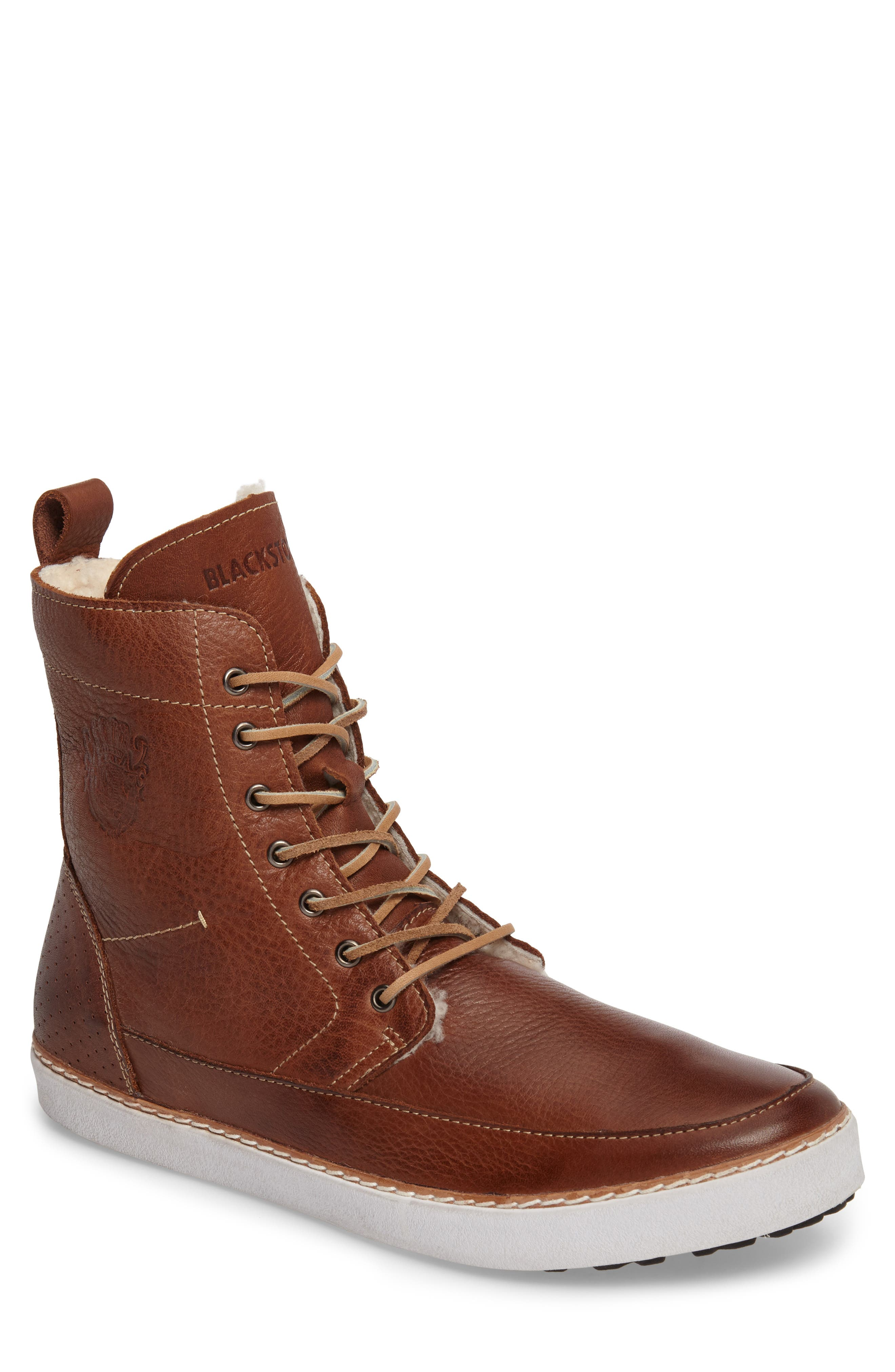 Blackstone 'AM 32' Shearling Lined Boot (Men)