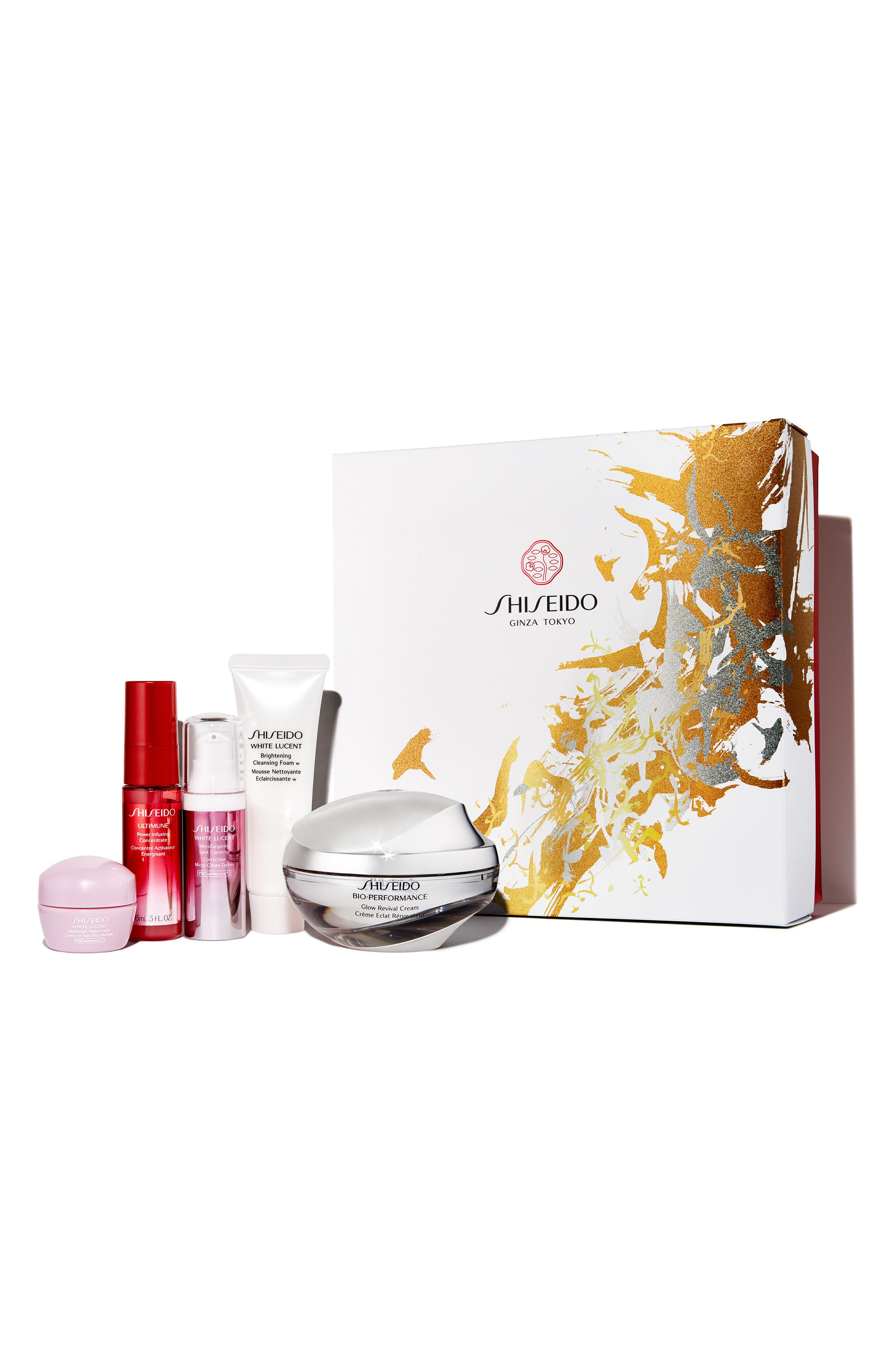 Shiseido Super Glowing Collection ($216 Value)