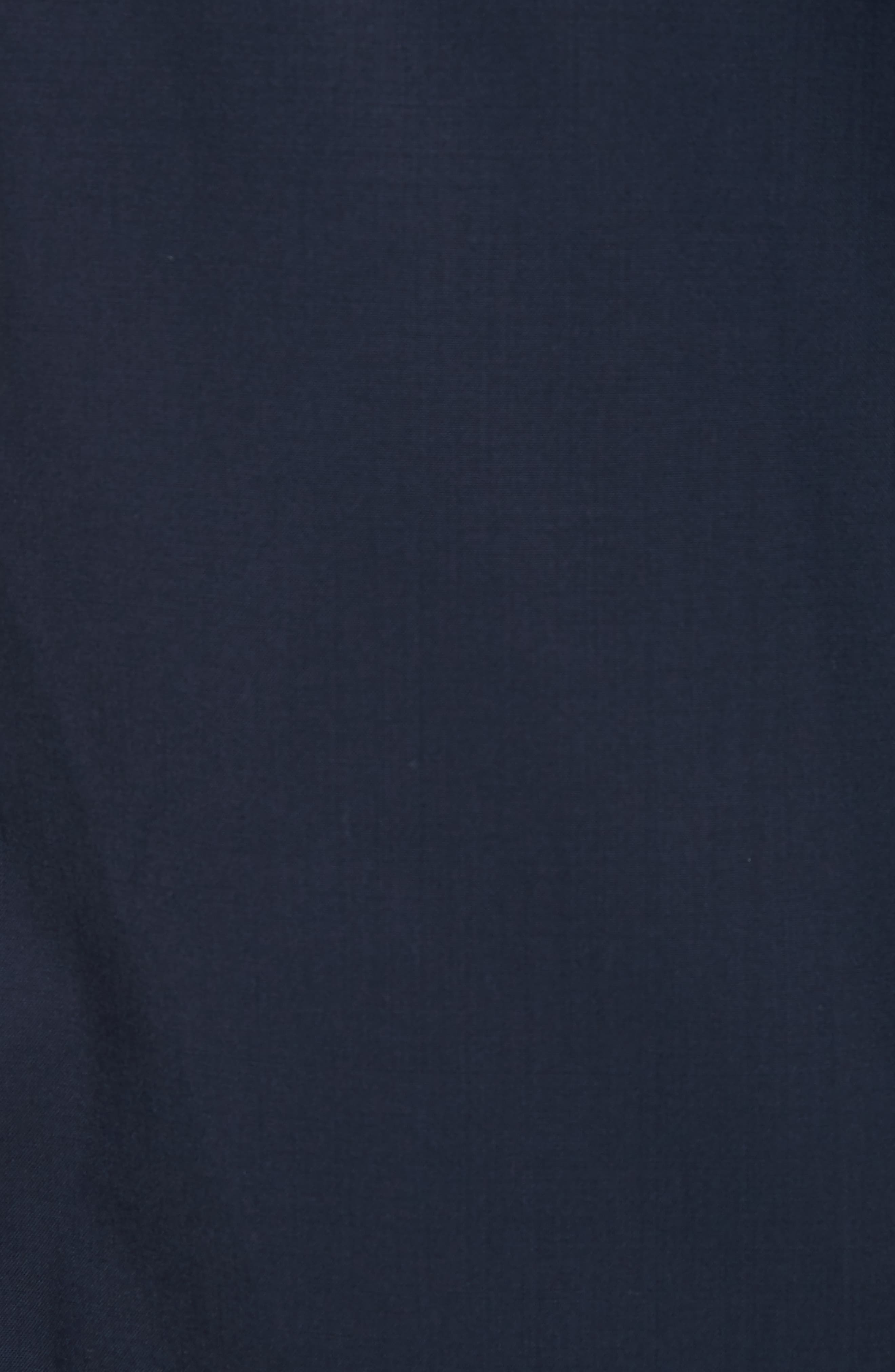 Wool Coachs Jacket,                             Alternate thumbnail 5, color,                             Midnight