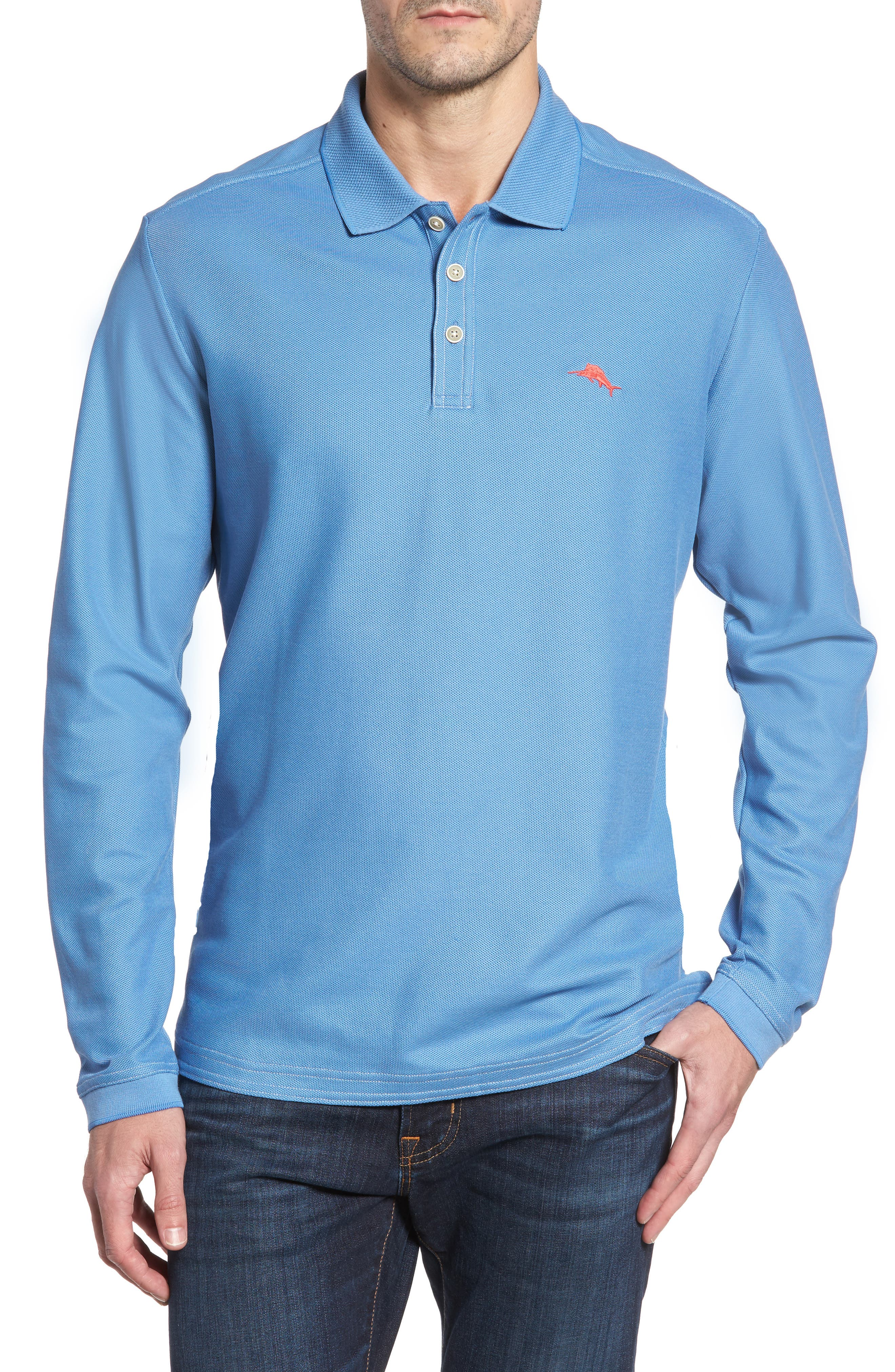 Main Image - Tommy Bahama Emfielder Long Sleeve Polo