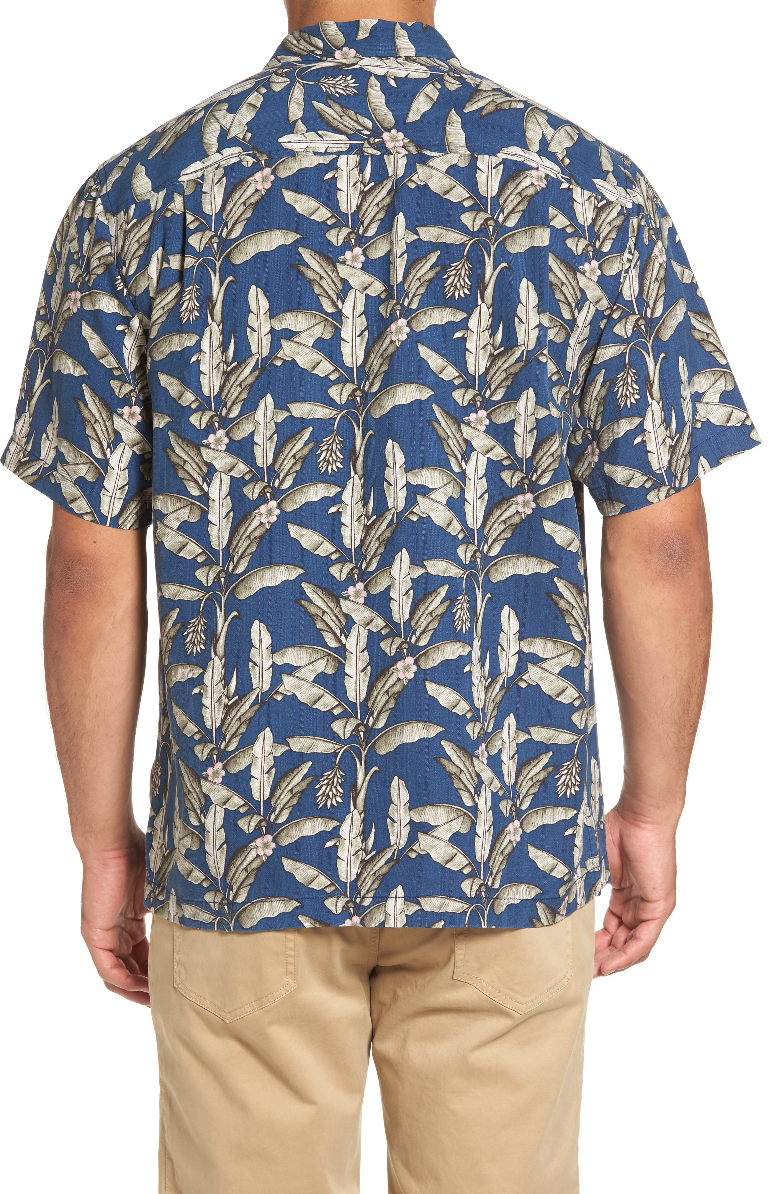 Alternate Image 2  - Tommy Bahama Sahara Fronds Silk Woven Shirt