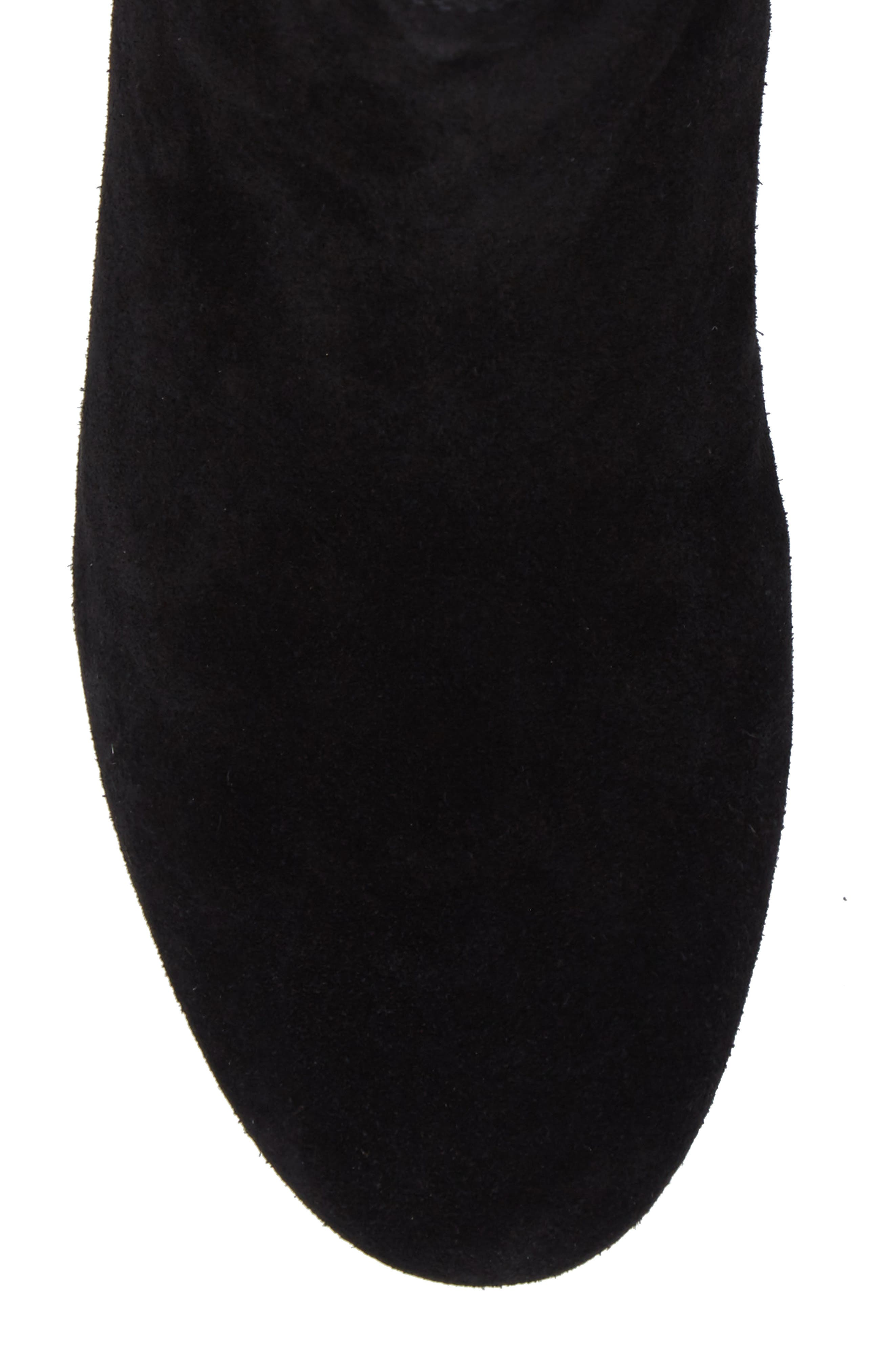 Barley Chelsea Boot,                             Alternate thumbnail 4, color,                             Black