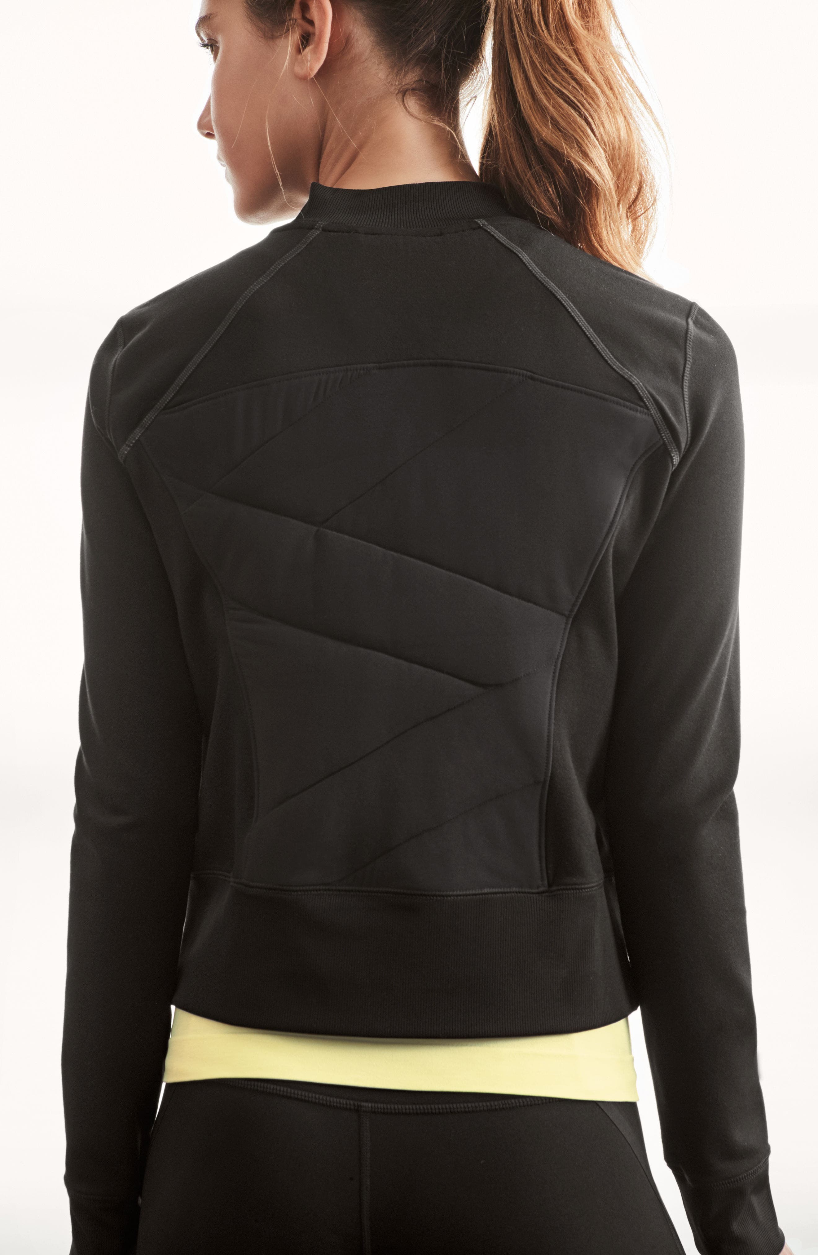 Wear It Out Bomber Jacket,                             Alternate thumbnail 4, color,