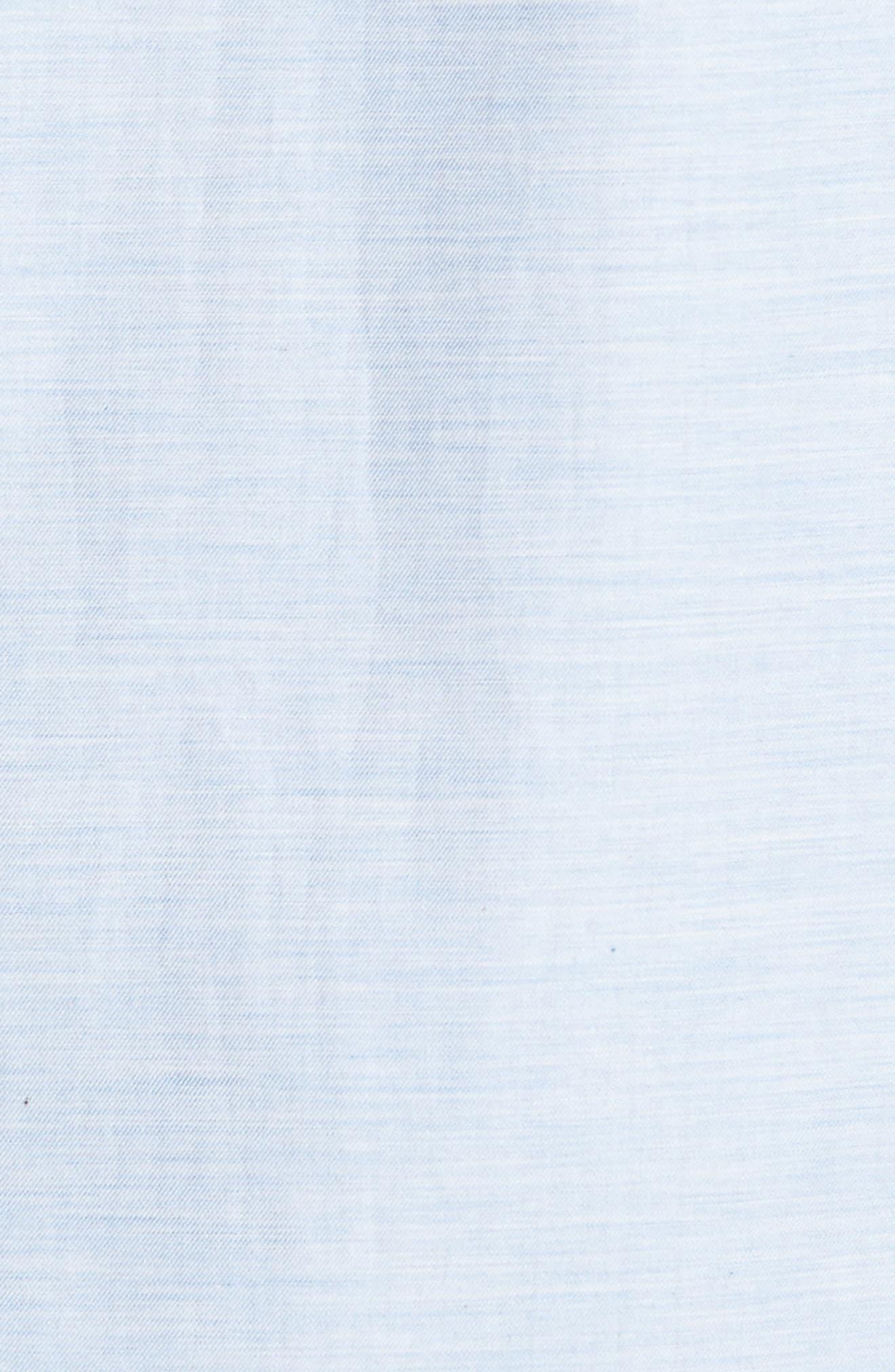 Alternate Image 6  - Ted Baker London Annisley Modern Slim Fit Sport Shirt
