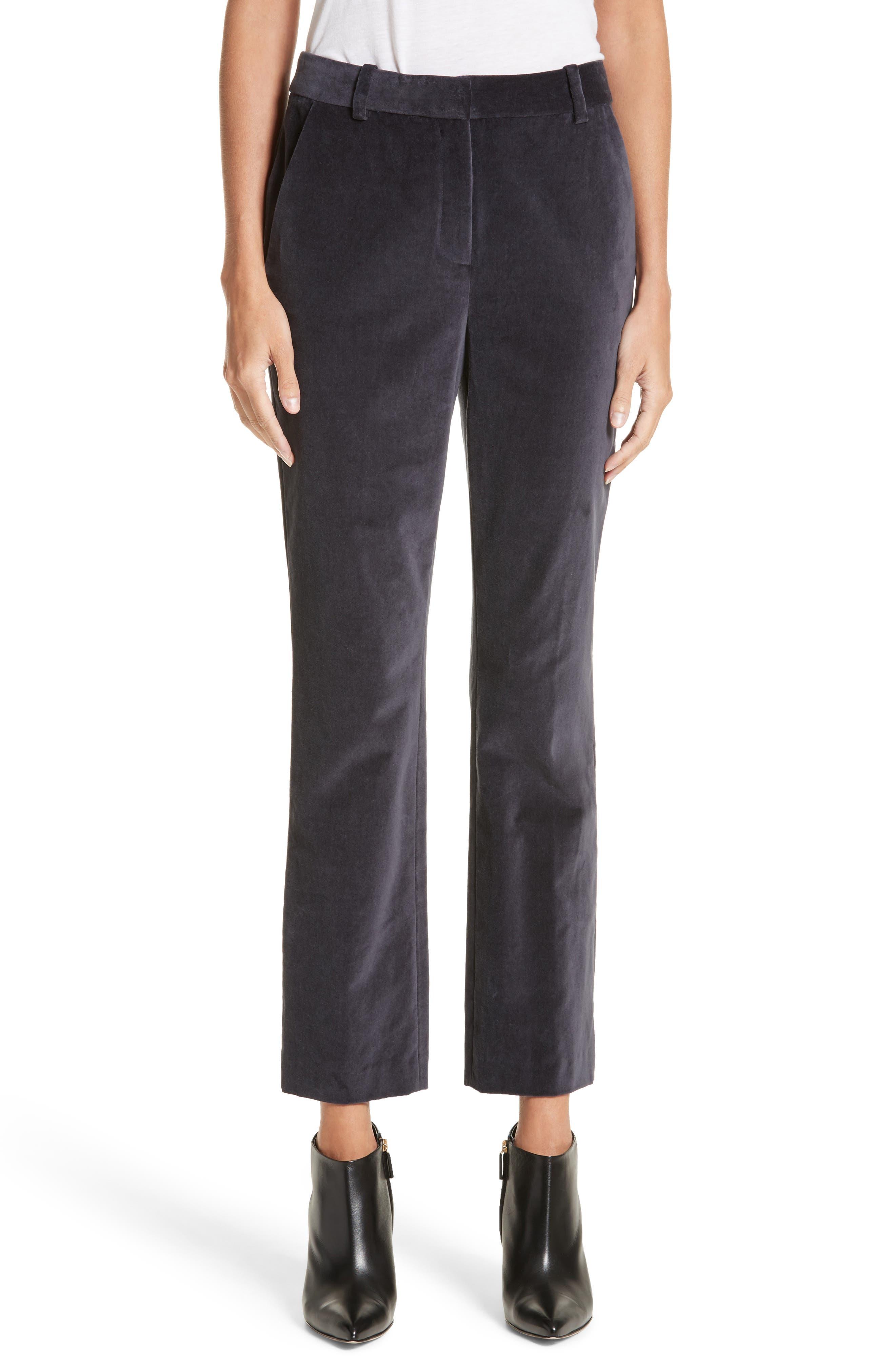 Rebecca Taylor Stretch Velvet Pants