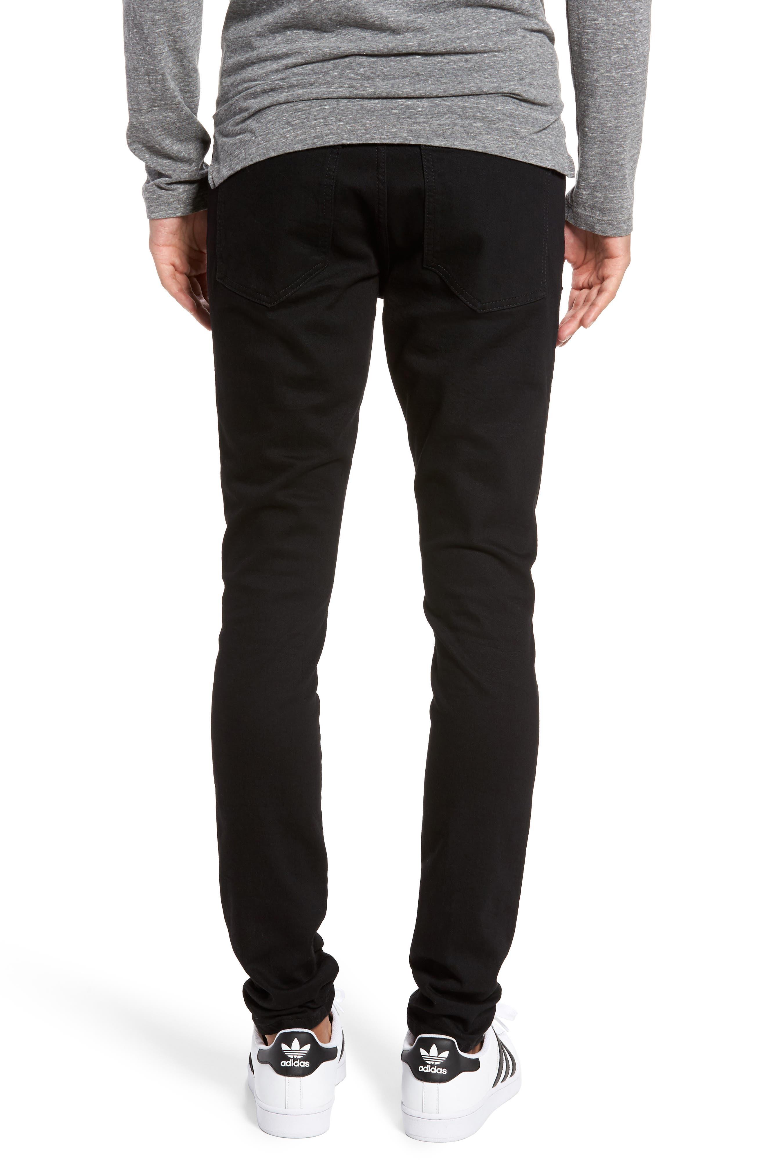 Alternate Image 2  - Represent Slim Fit Distressed Jeans