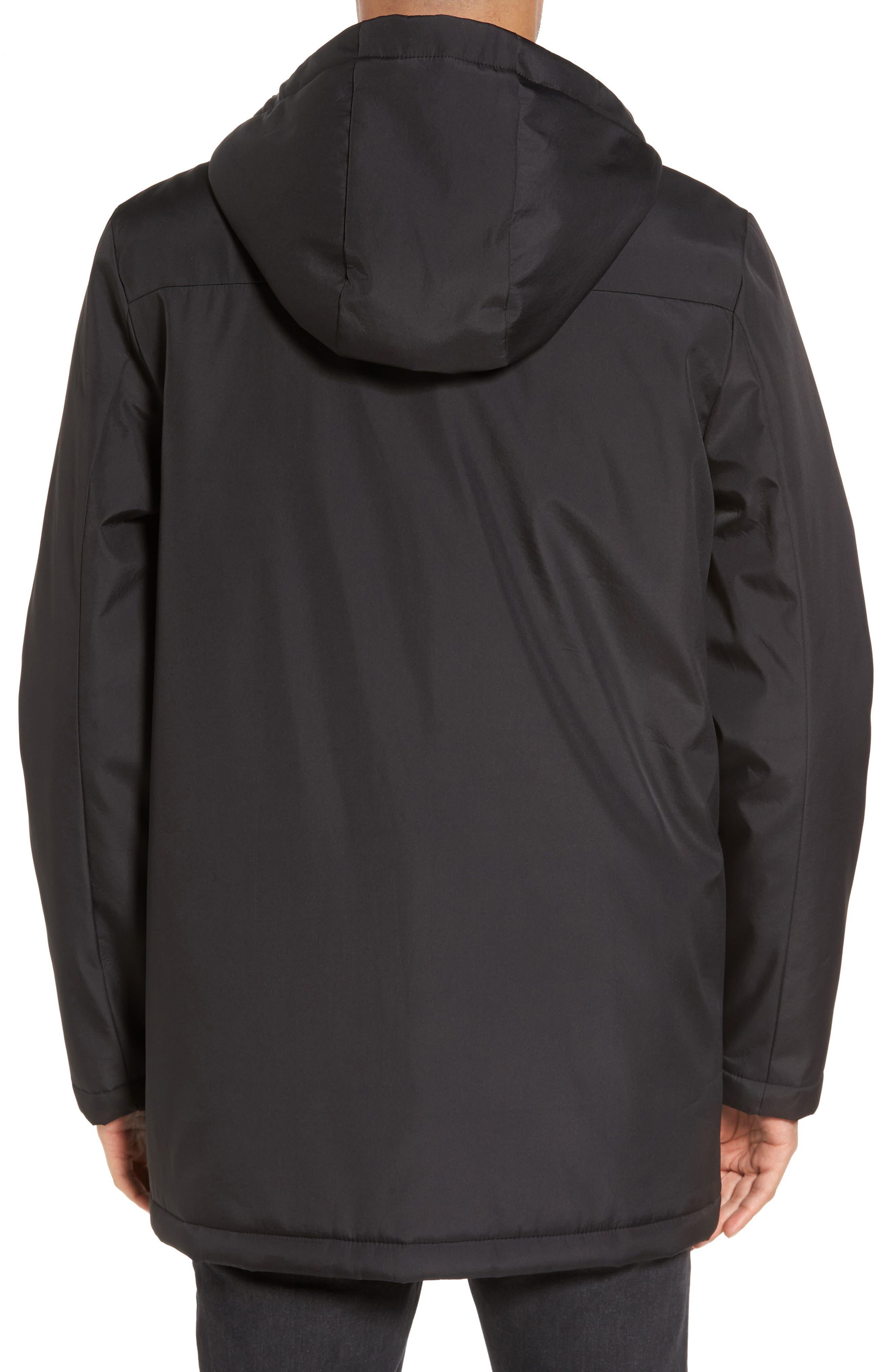 Cedric Weatherproof Jacket,                             Alternate thumbnail 2, color,                             Black
