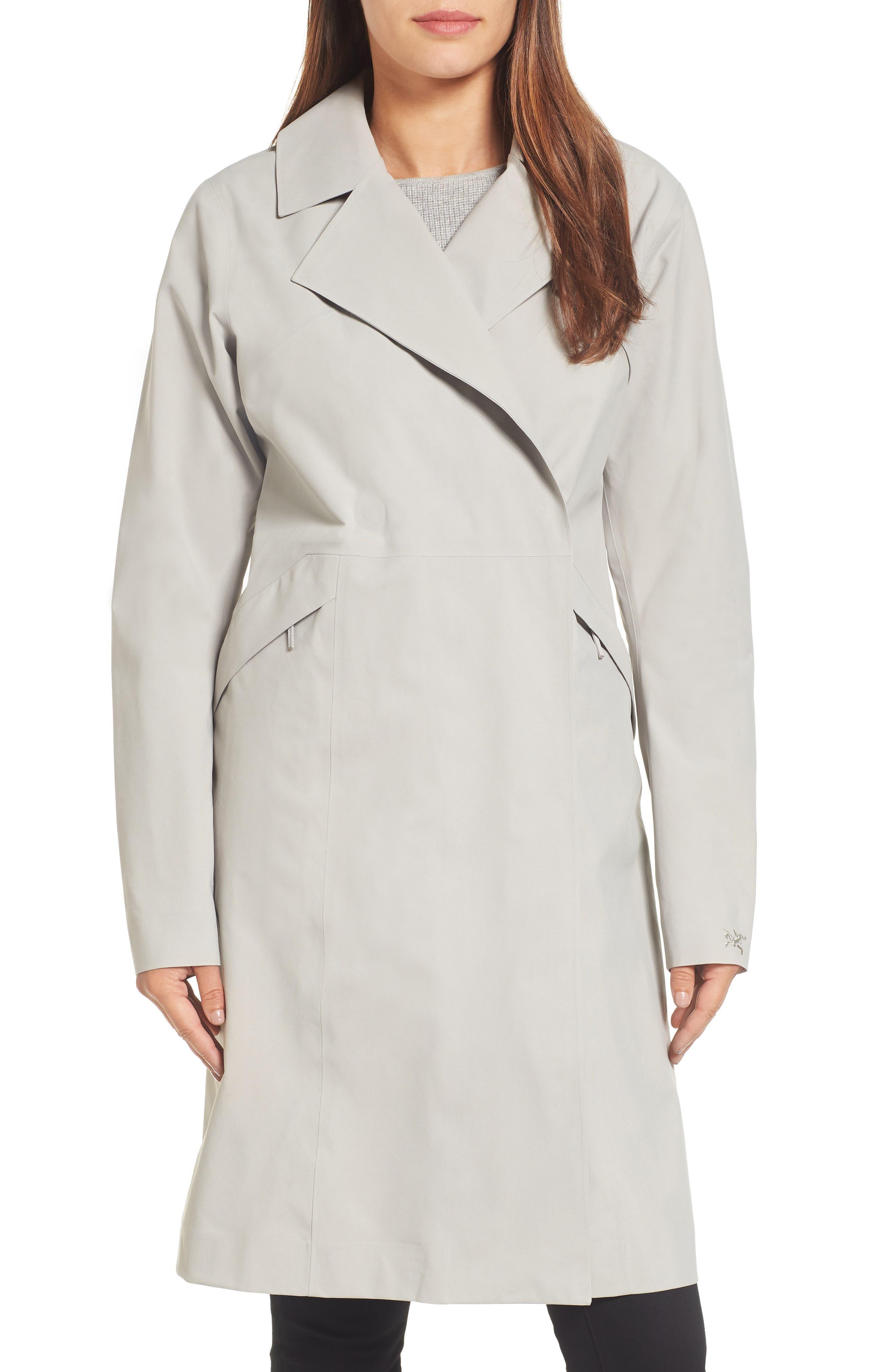 Nila Gore-Tex<sup>®</sup> Trench Coat,                             Main thumbnail 1, color,                             Fawn