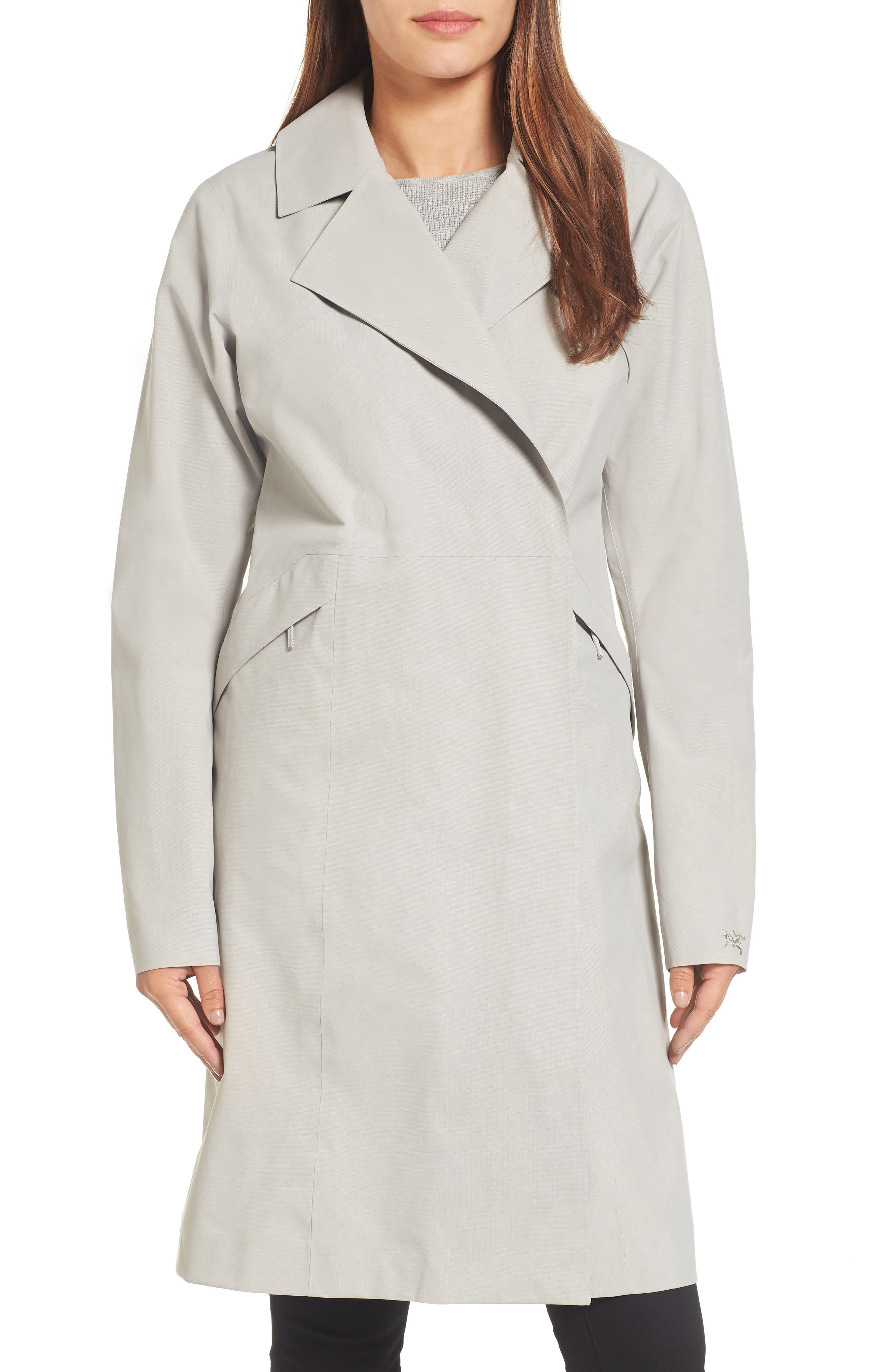 Nila Gore-Tex<sup>®</sup> Trench Coat,                         Main,                         color, Fawn