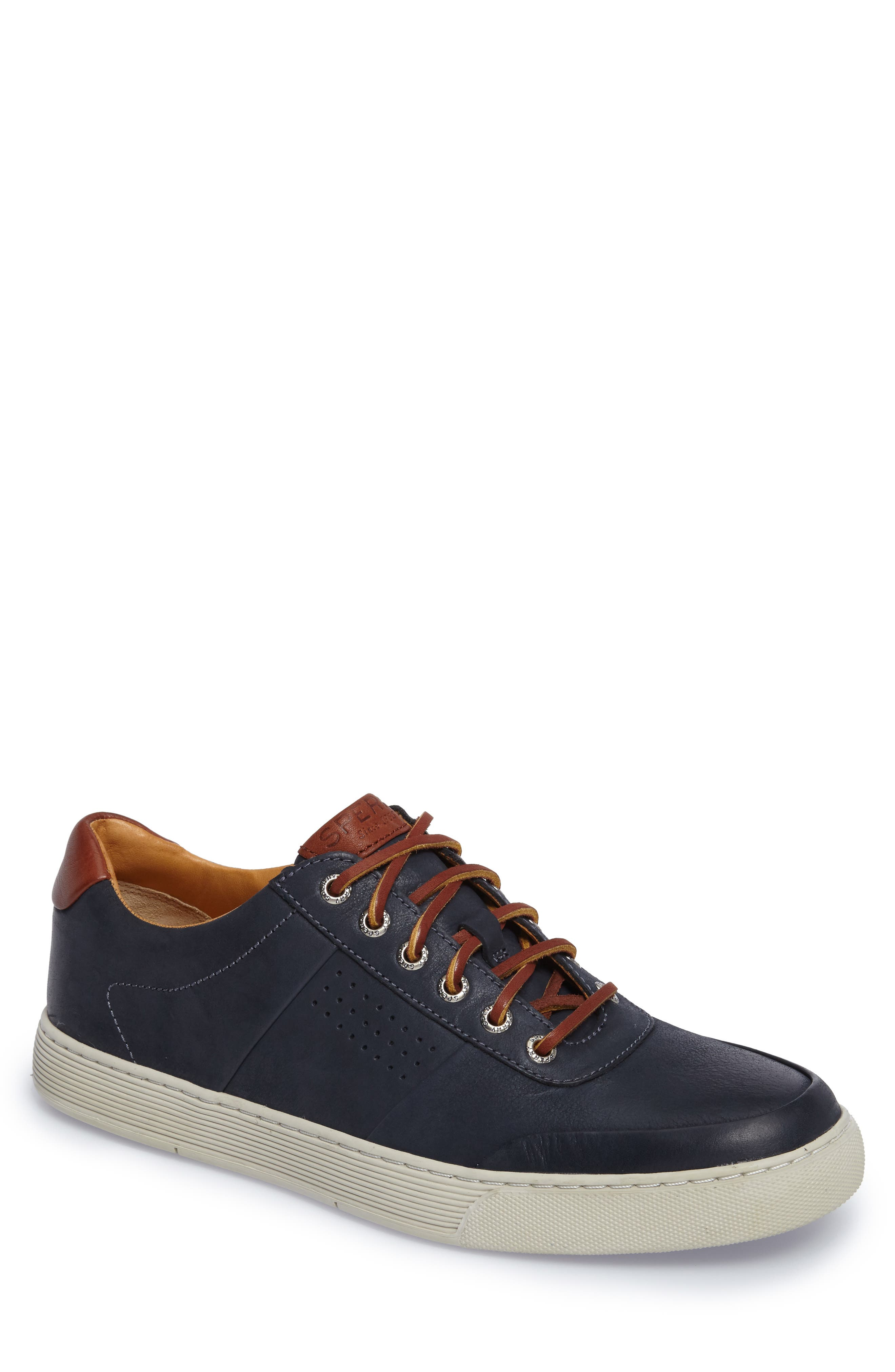 Gold Cup Sport Sneaker,                         Main,                         color, Navy Leather