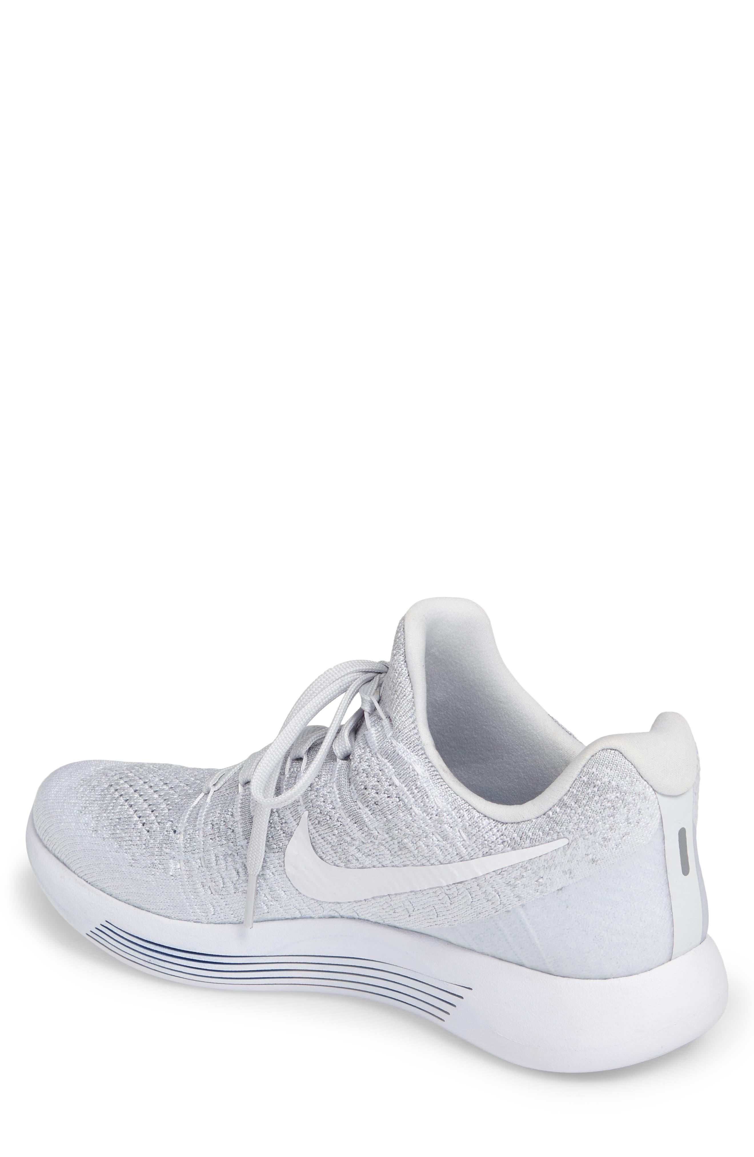 Alternate Image 2  - Nike Flyknit 2 LunarEpic Running Shoe (Men)