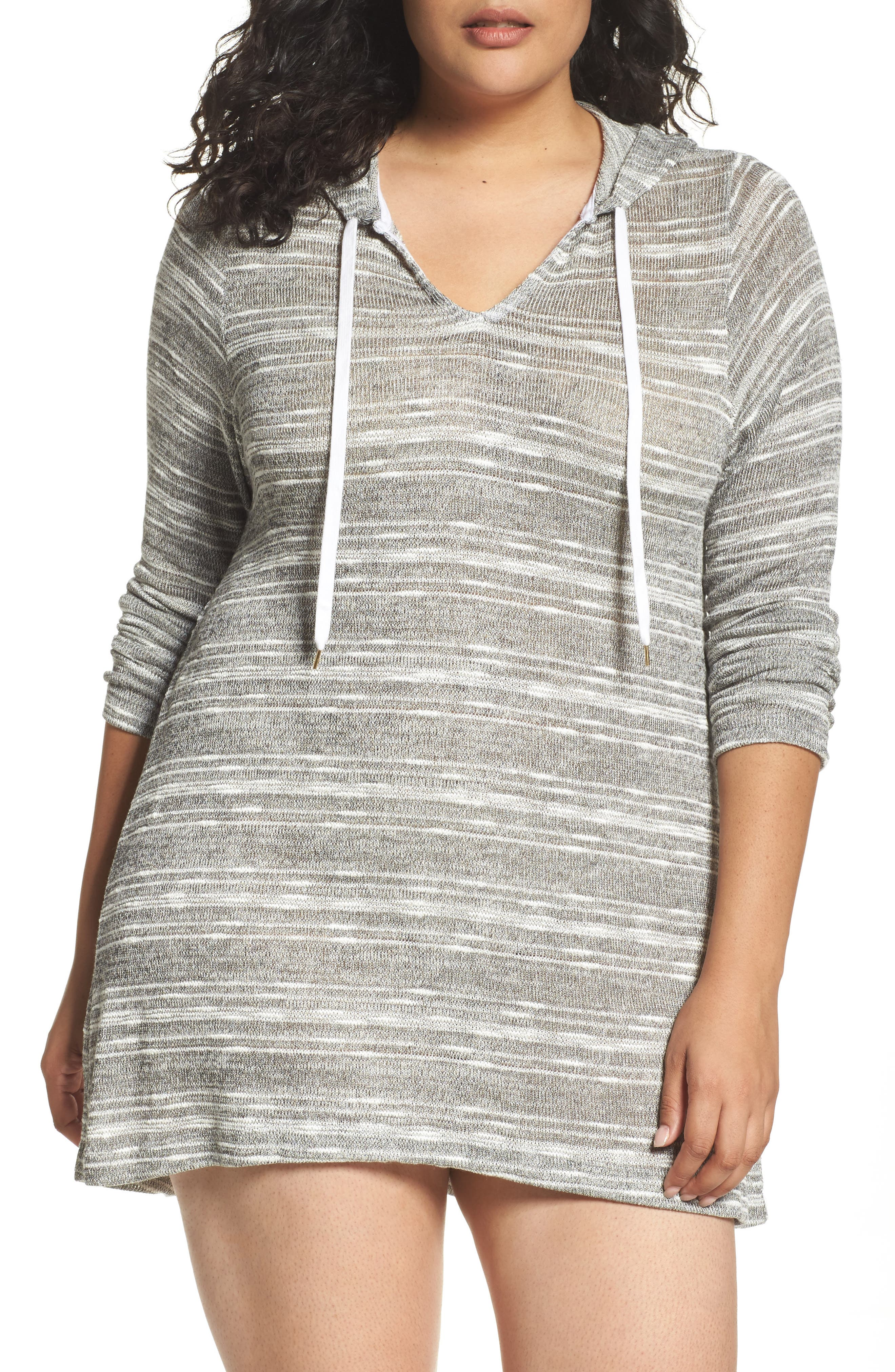 Cover-Up Tunic,                         Main,                         color, Black