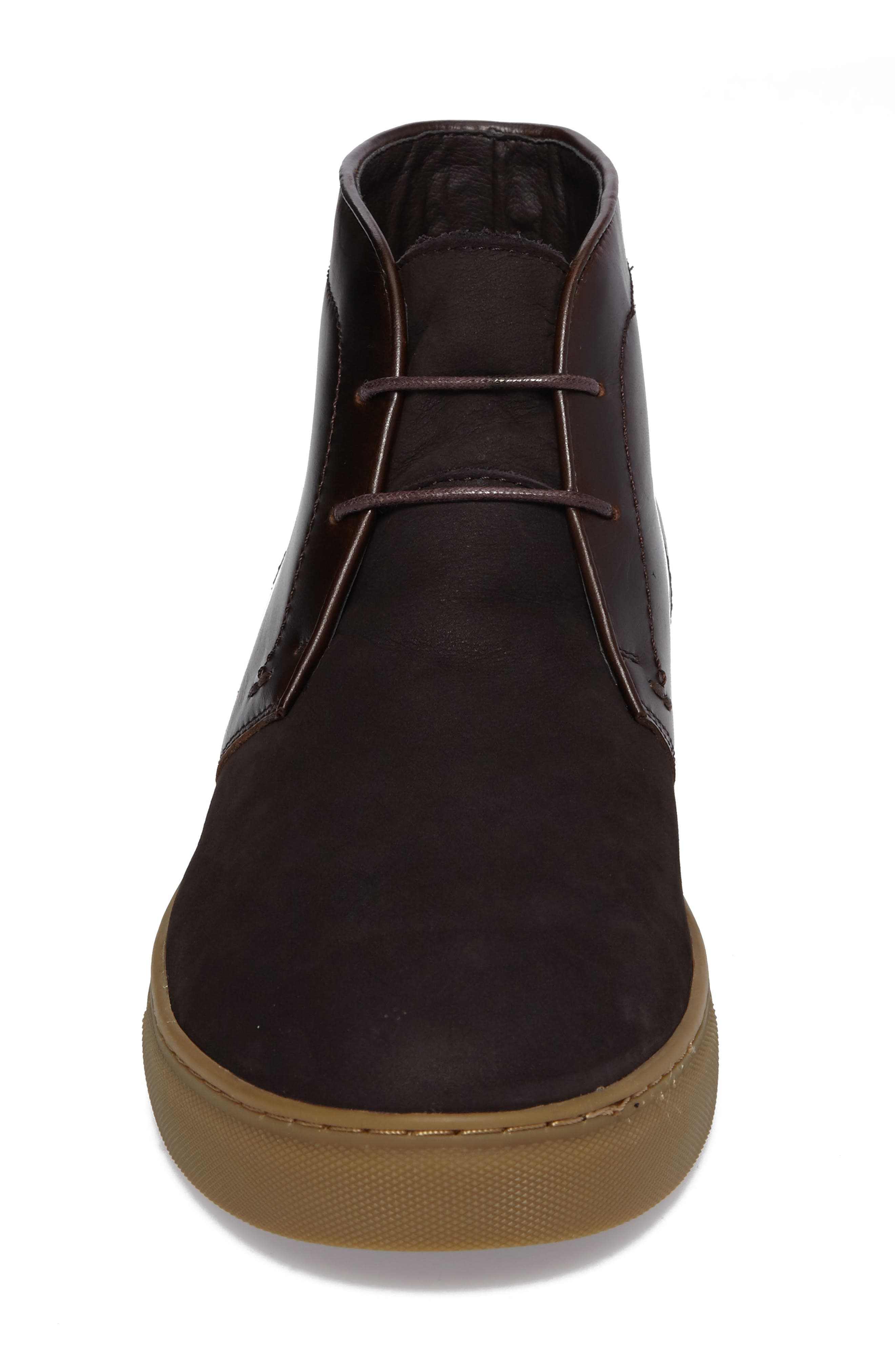 Laxey Mid Sneaker,                             Alternate thumbnail 4, color,                             Brown