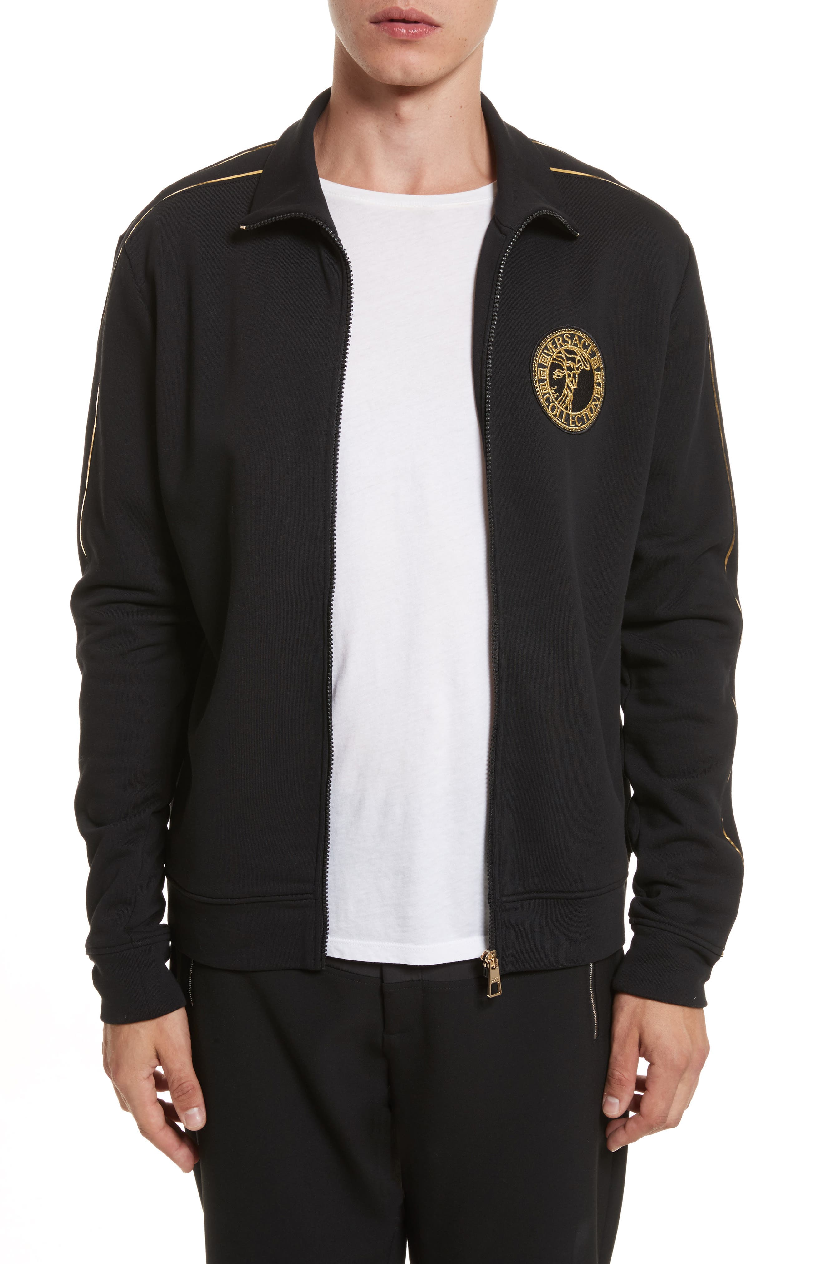 Alternate Image 1 Selected - Versace Collection Track Jacket