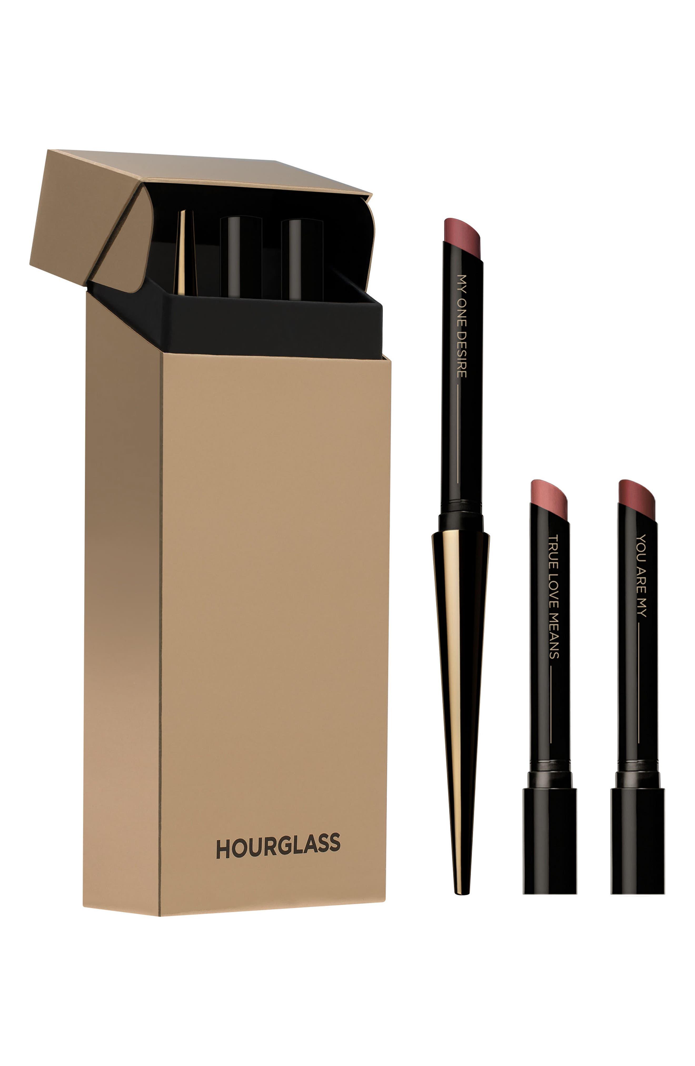 HOURGLASS Confession Refillable Lipstick Set ($78 Value)