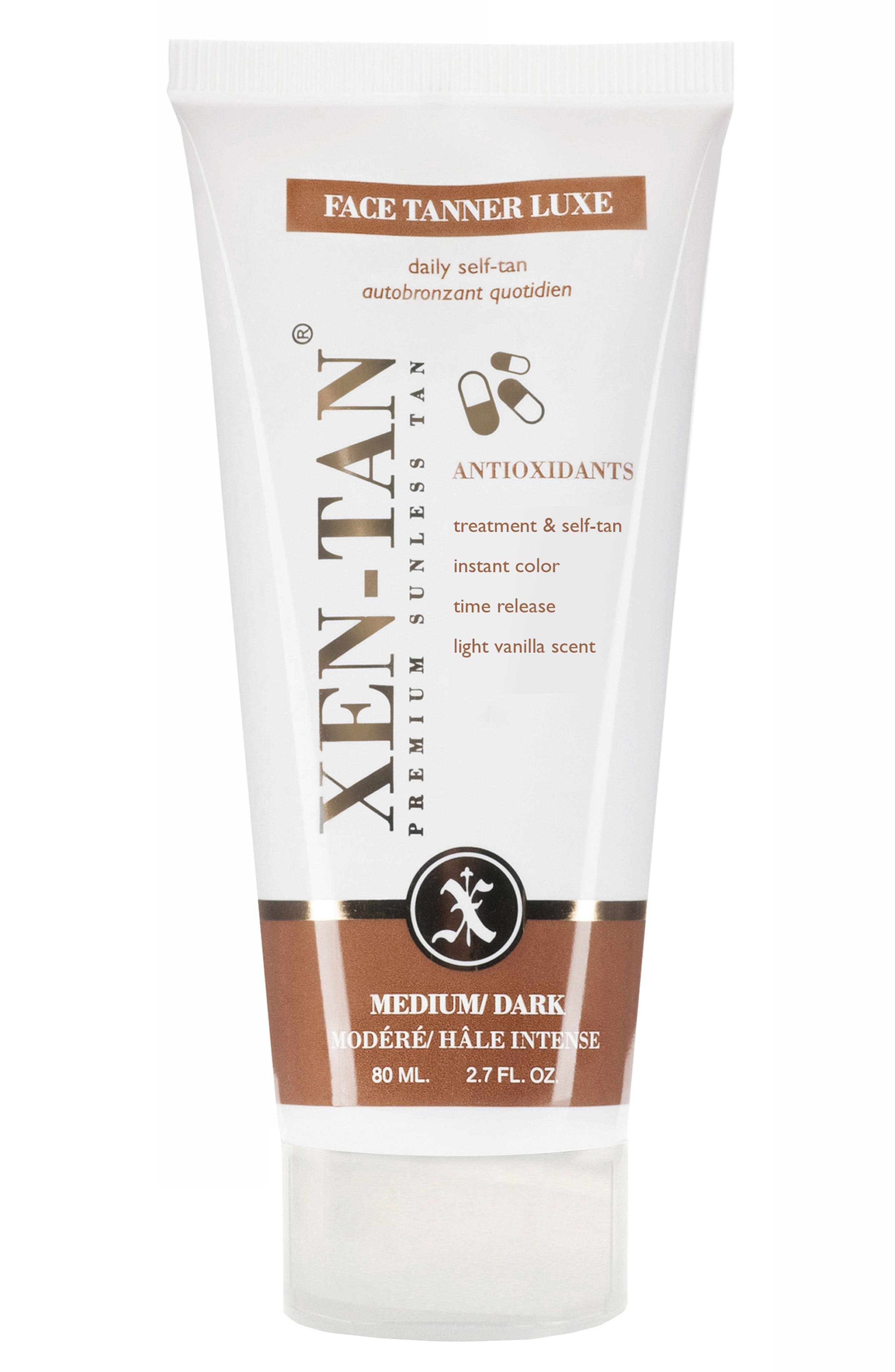 'Face Tanner Luxe' Premium Sunless Tan,                         Main,                         color, No Color