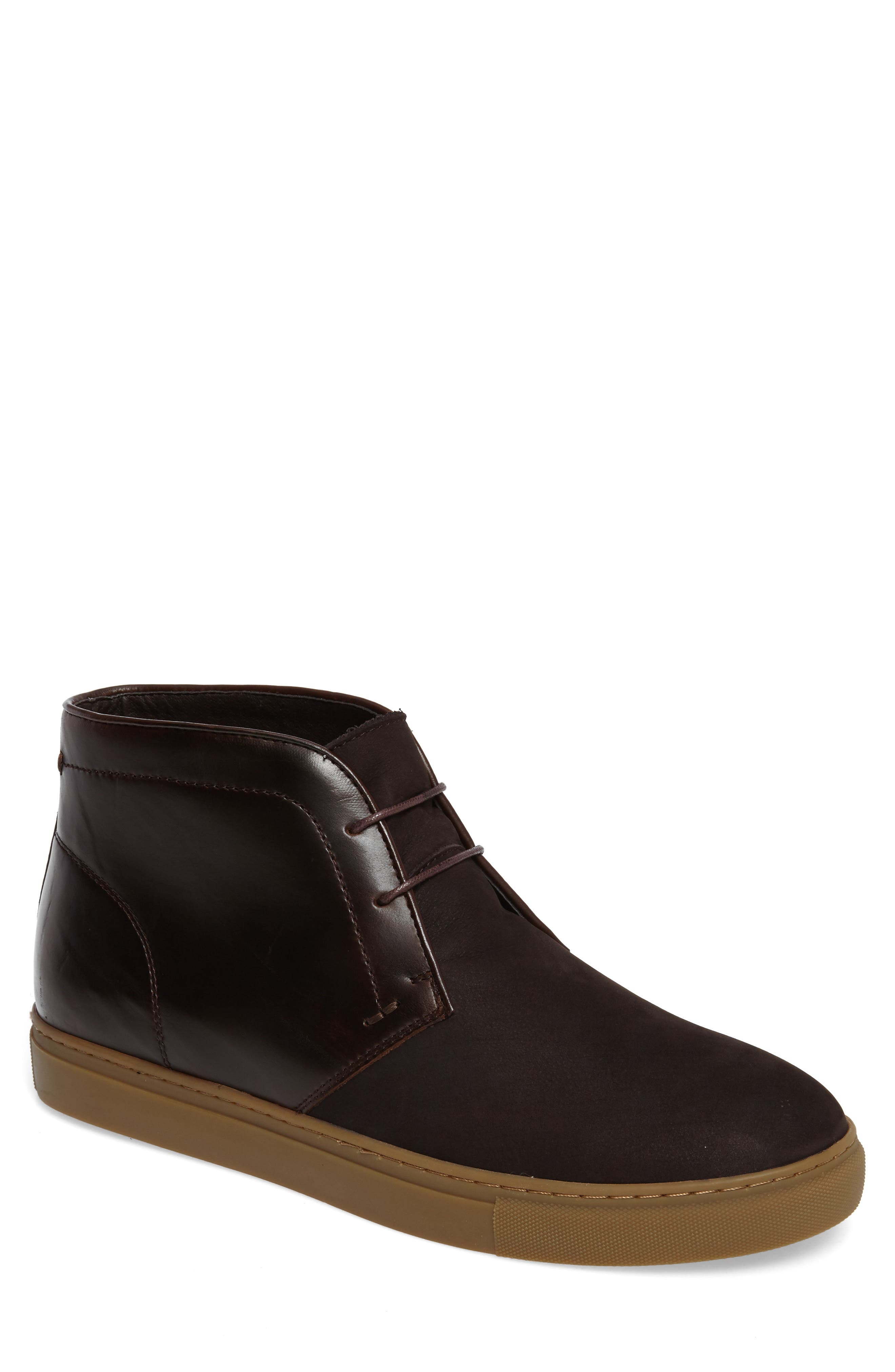 Laxey Mid Sneaker,                         Main,                         color, Brown